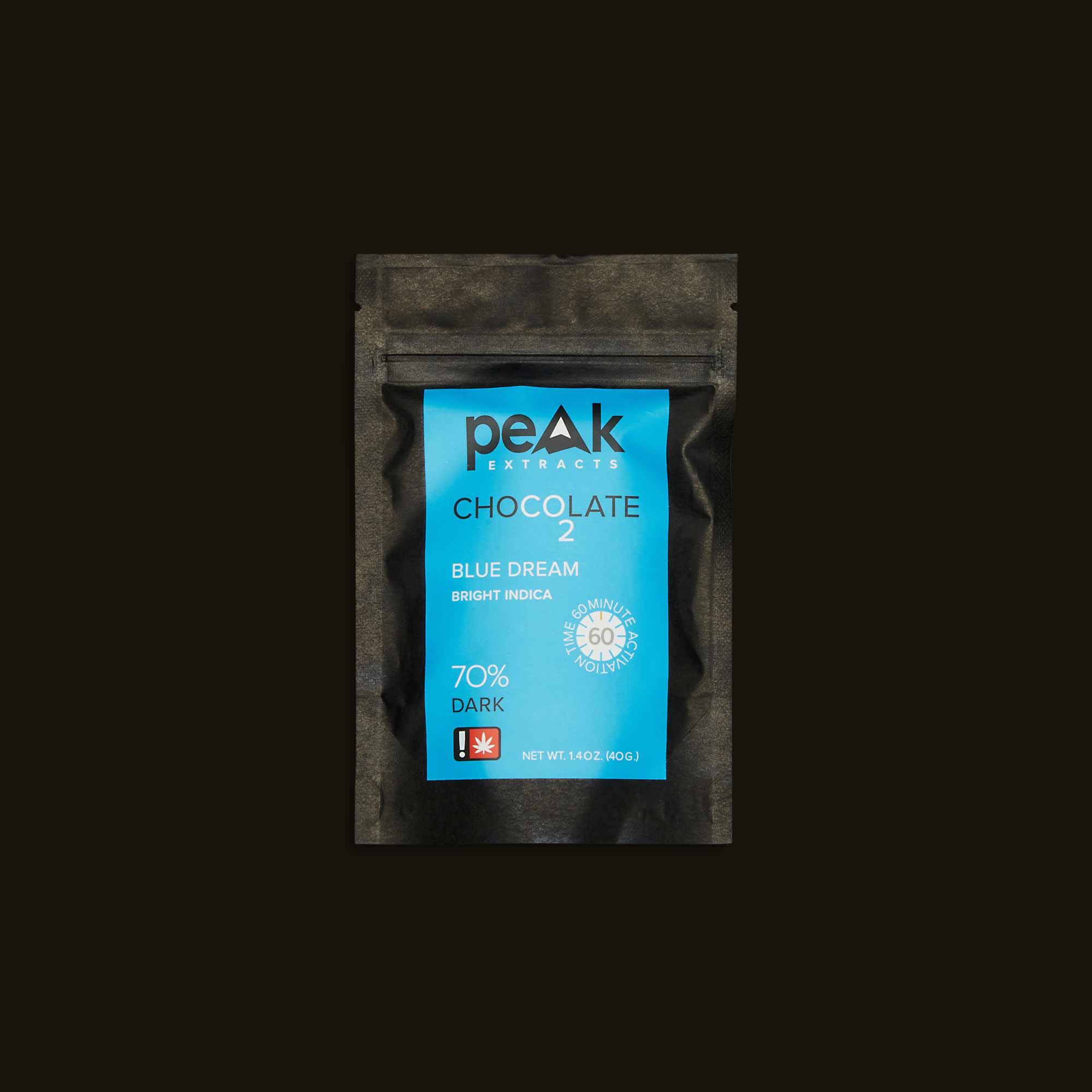 Peak Extracts Blue Dream Chocolate Bar