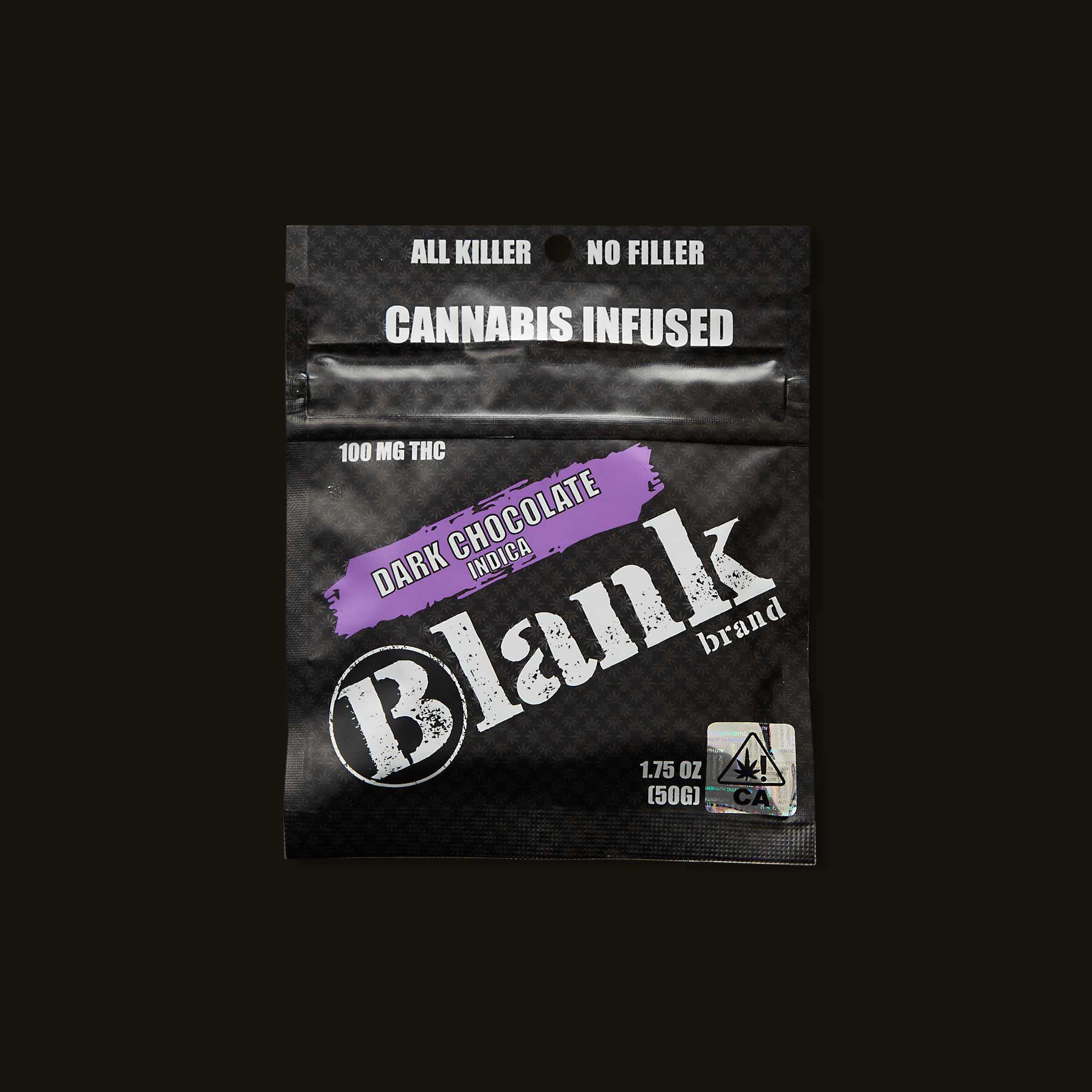 Blank Brand Indica Dark Chocolate