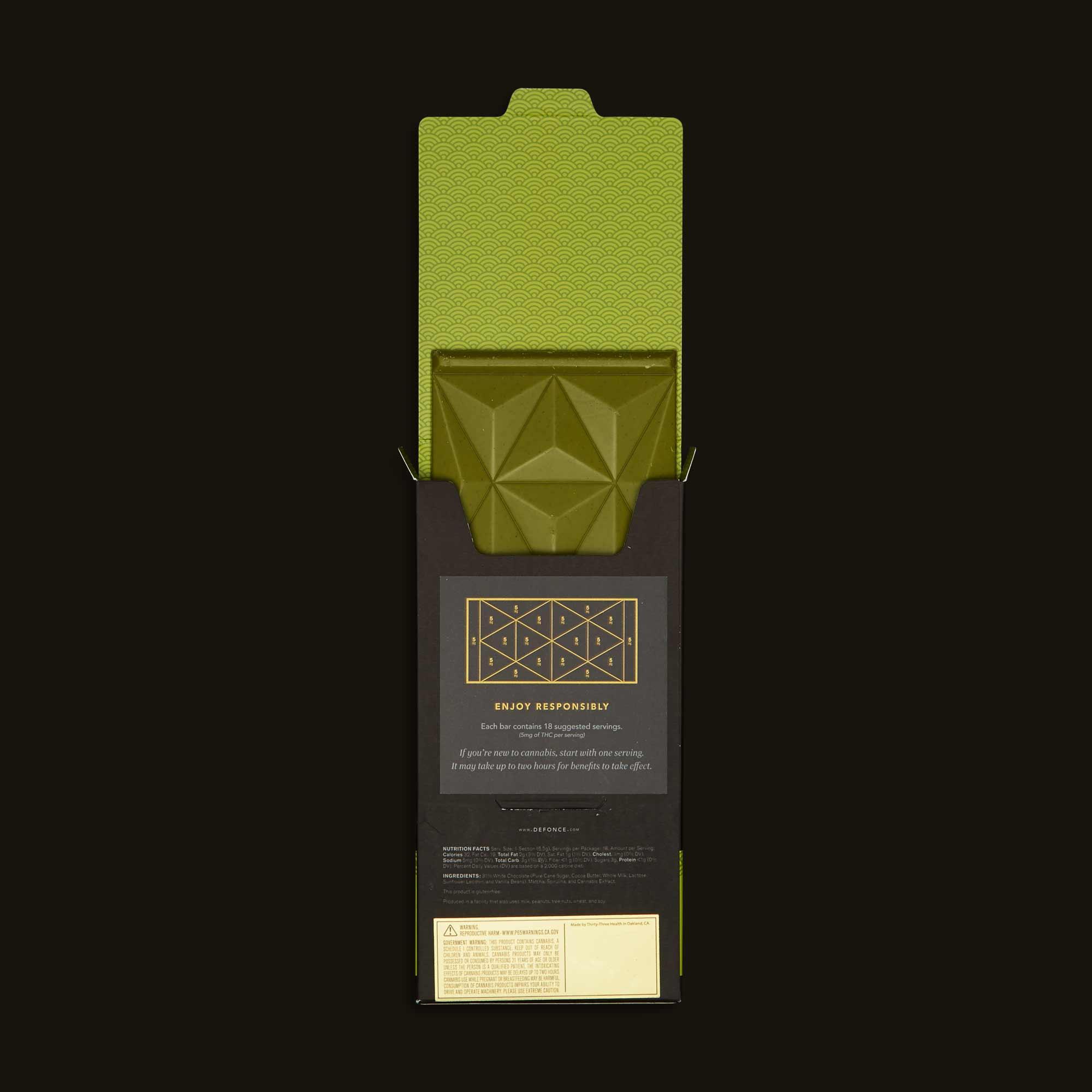Défoncé Matcha Chocolate Bar