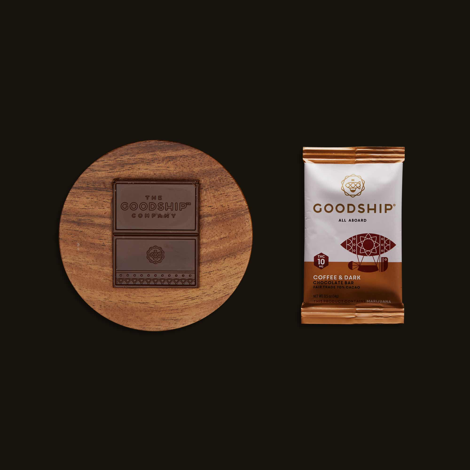 Goodship Coffee & Dark Chocolate Bar