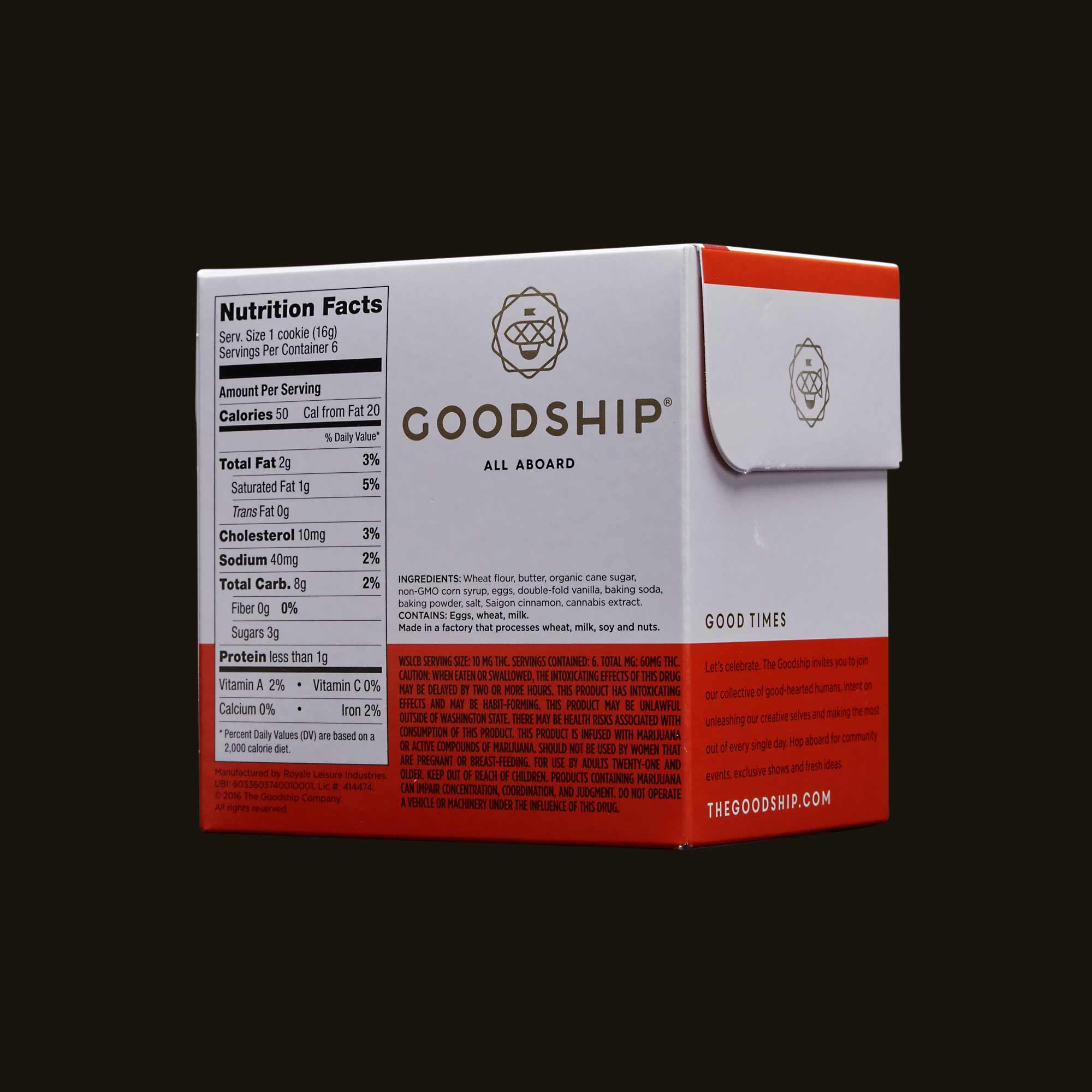 Goodship Snickerdoodle Cookies