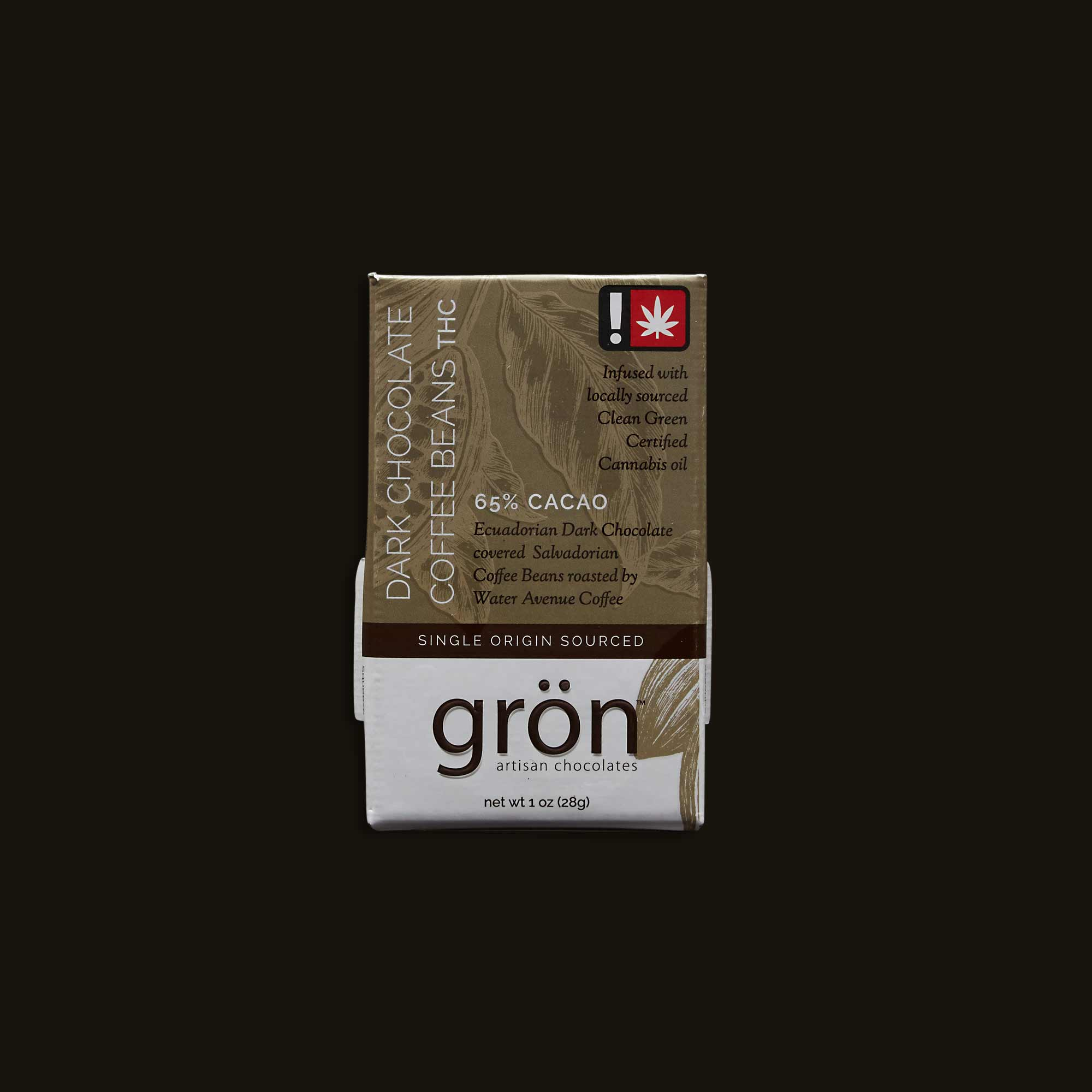 Grön Dark Chocolate Covered Coffee Beans