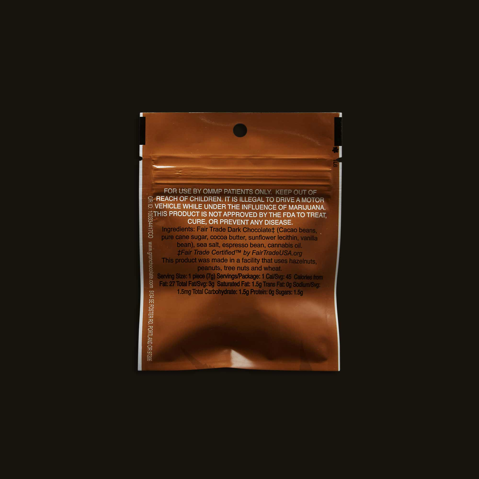 Grön Dark Chocolate Espresso Bite