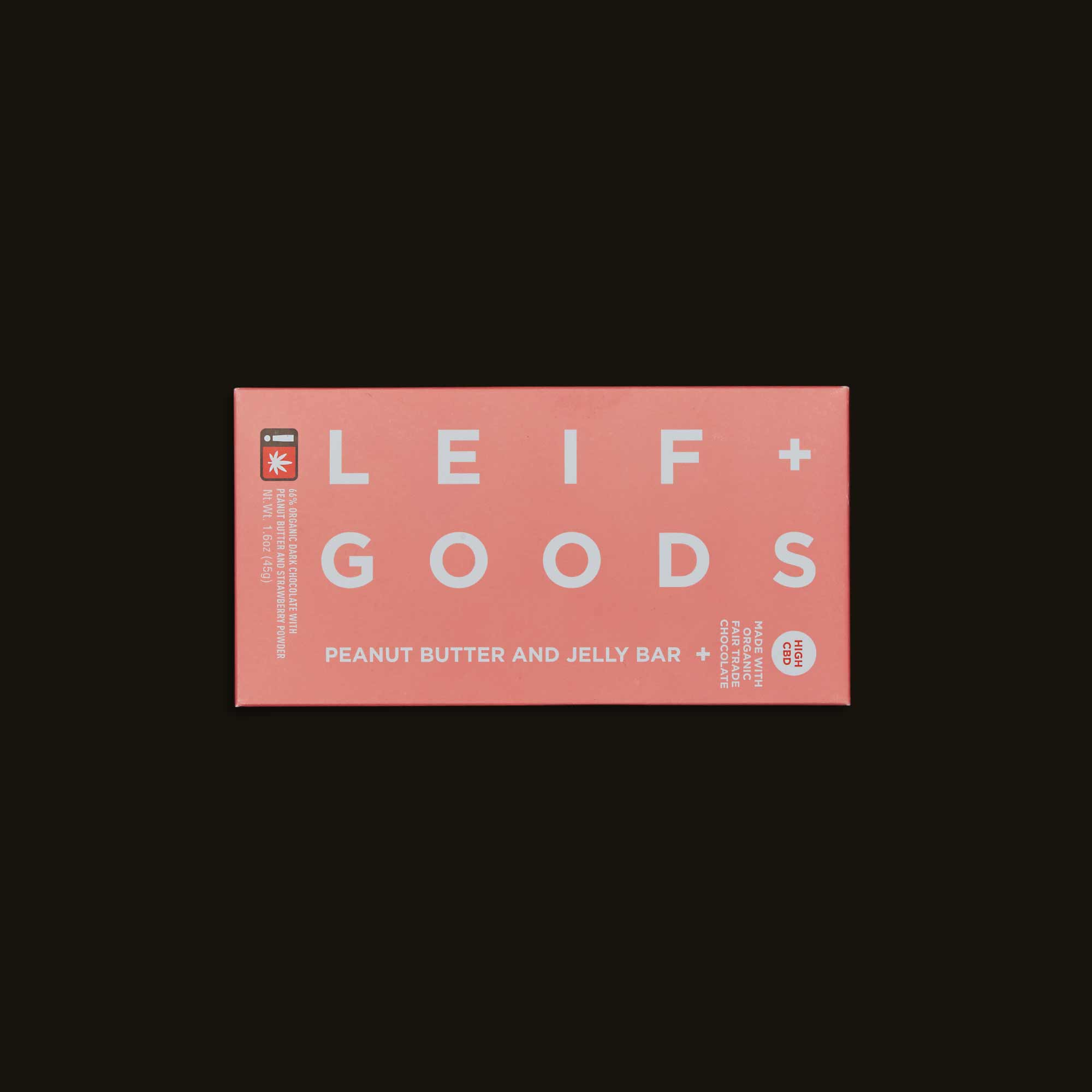 Leif Goods Peanut Butter and Jelly Bar