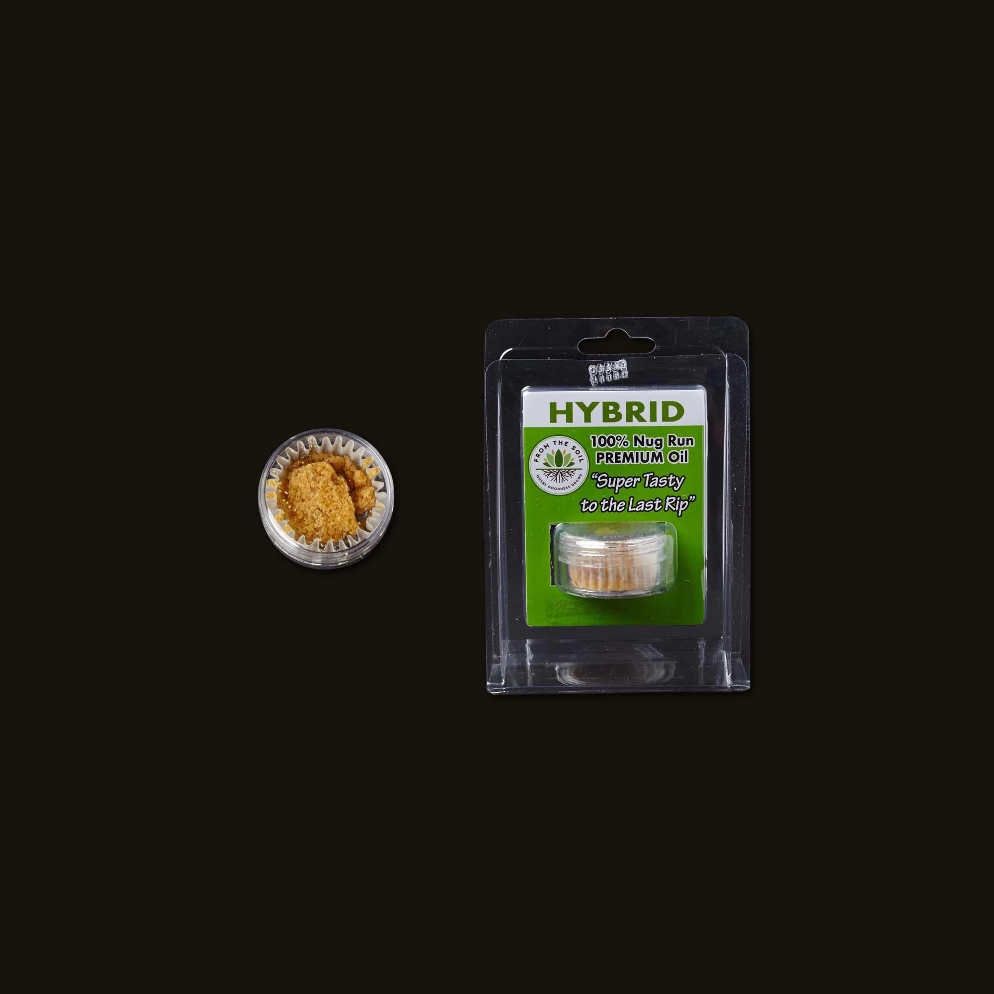 From the Soil Alien Orange Cookies Crumble