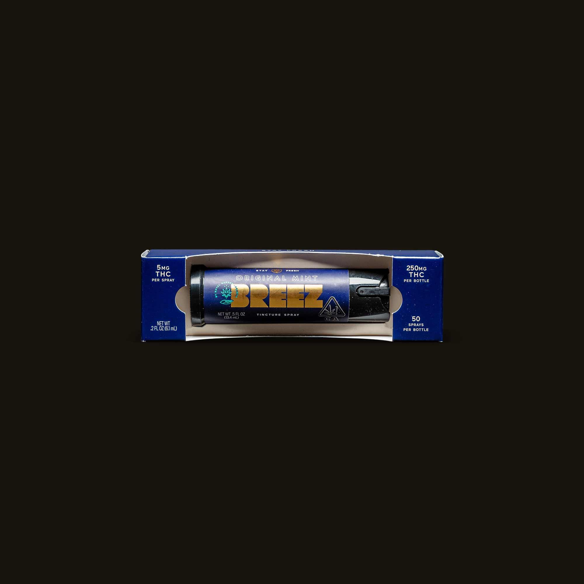 Original Mint Spray - 50 sprays (250mg THC)