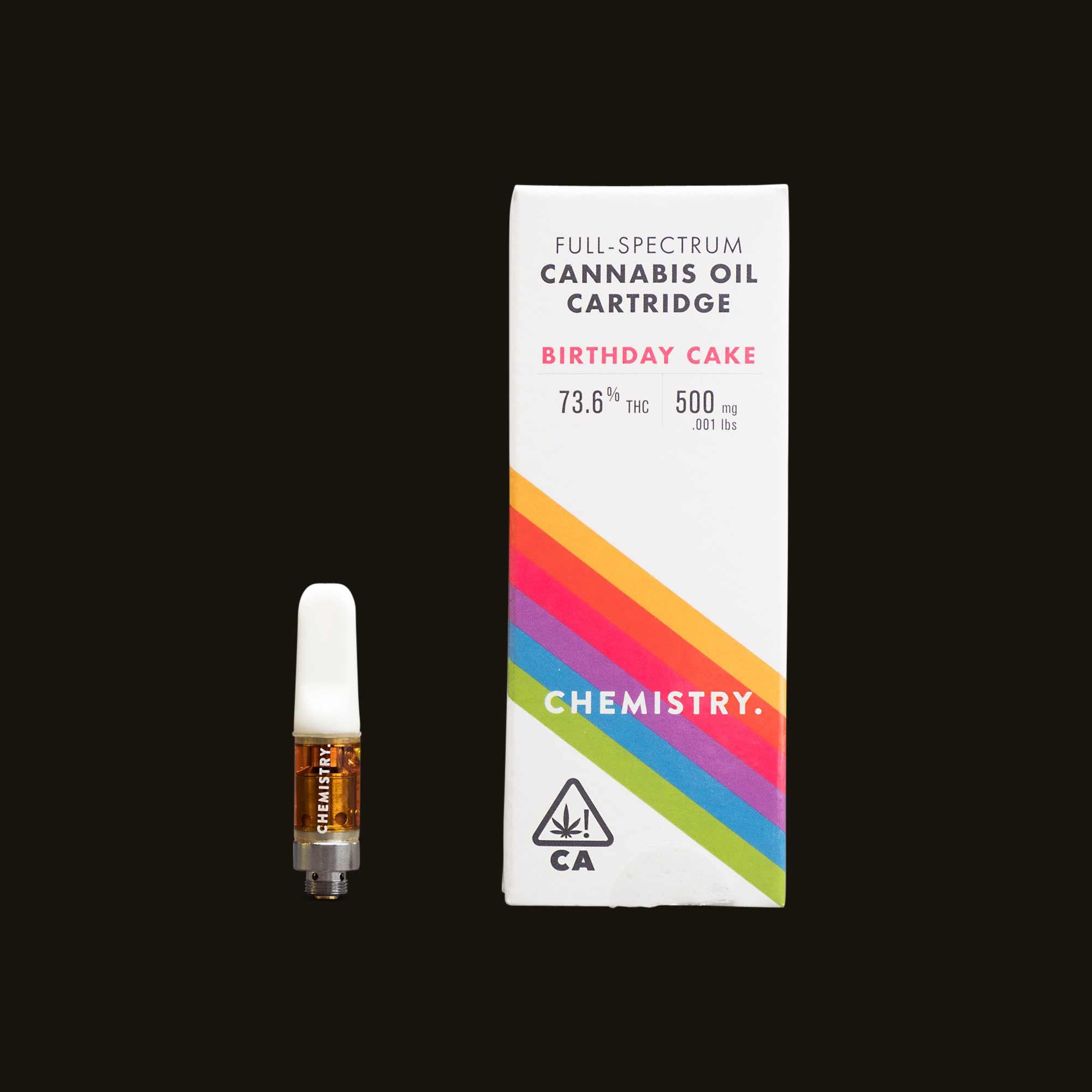 Chemistry Birthday Cake Cartridge