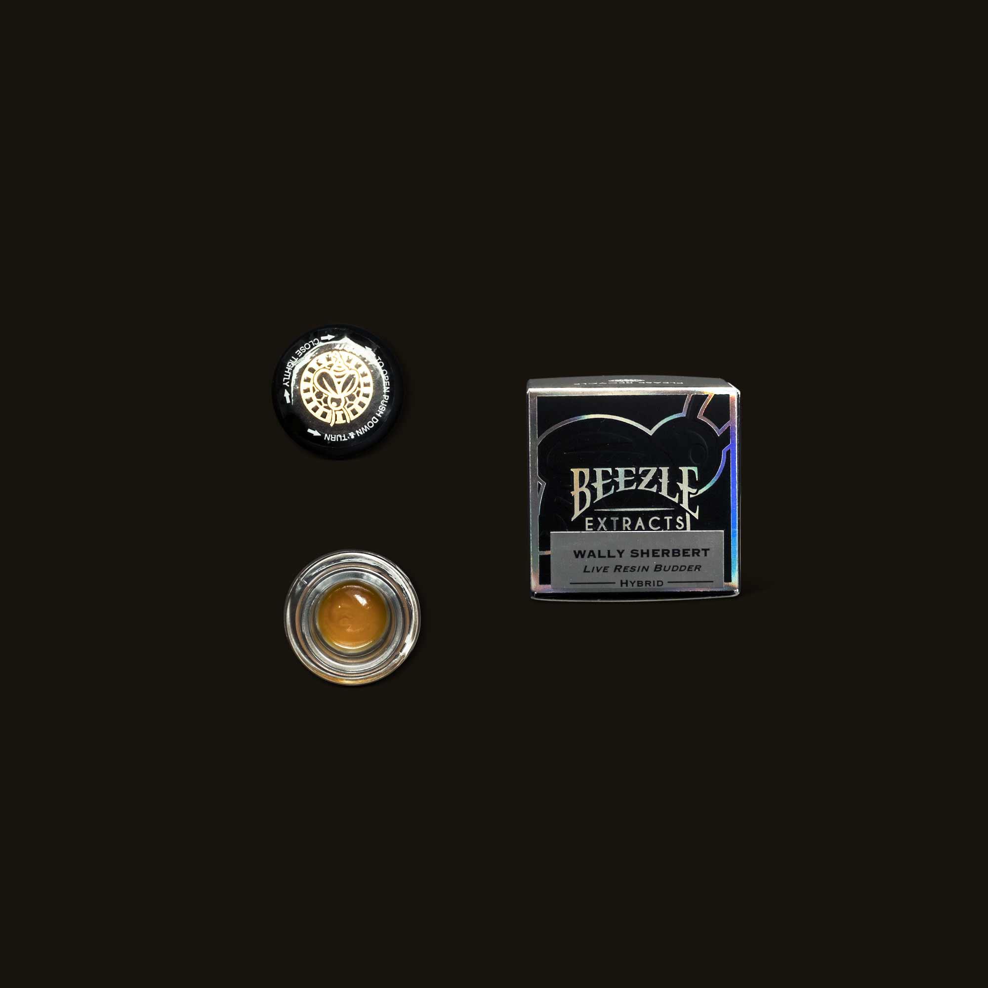 Beezle Walley Sherbert Live Resin Budder