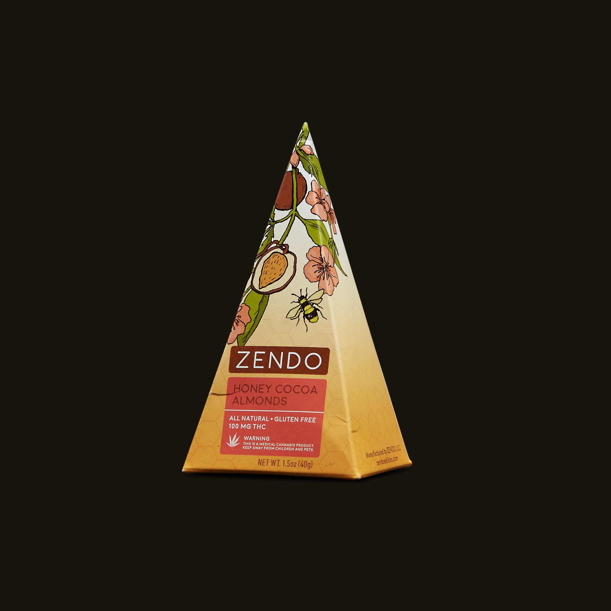 Zendo Honey Cocoa Almonds