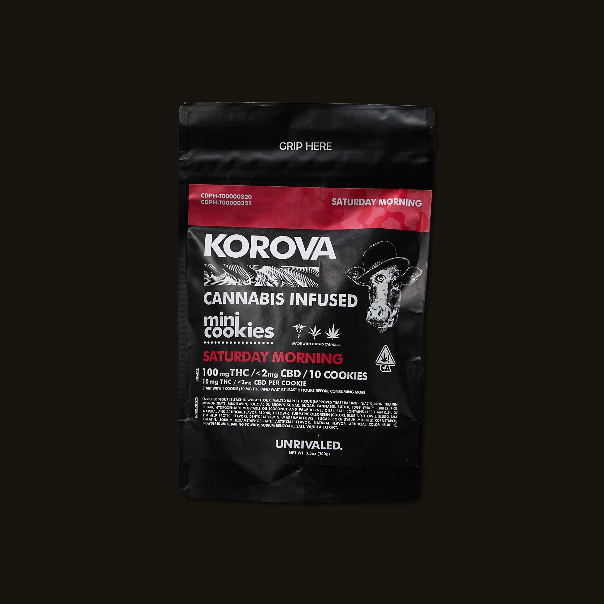 Korova Saturday Morning Mini Cookies