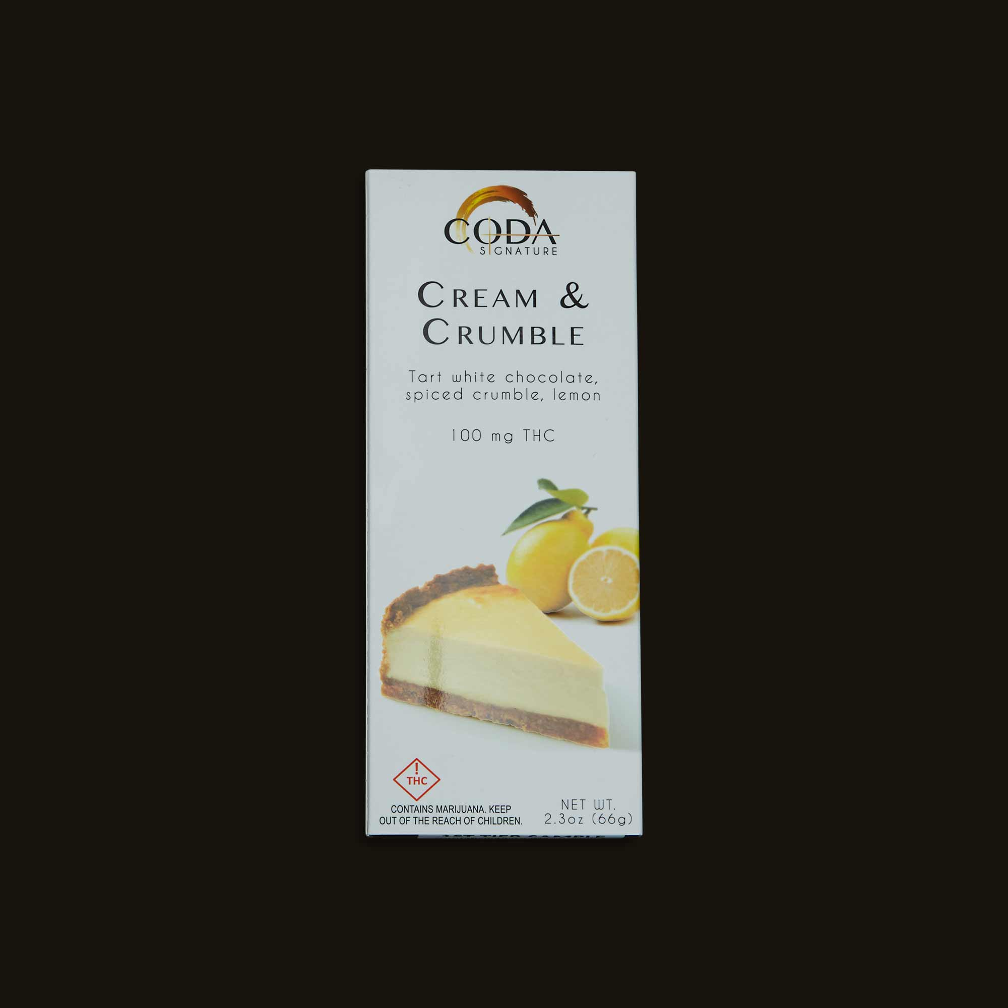 Coda Signature Cream & Crumble Chocolate Bar