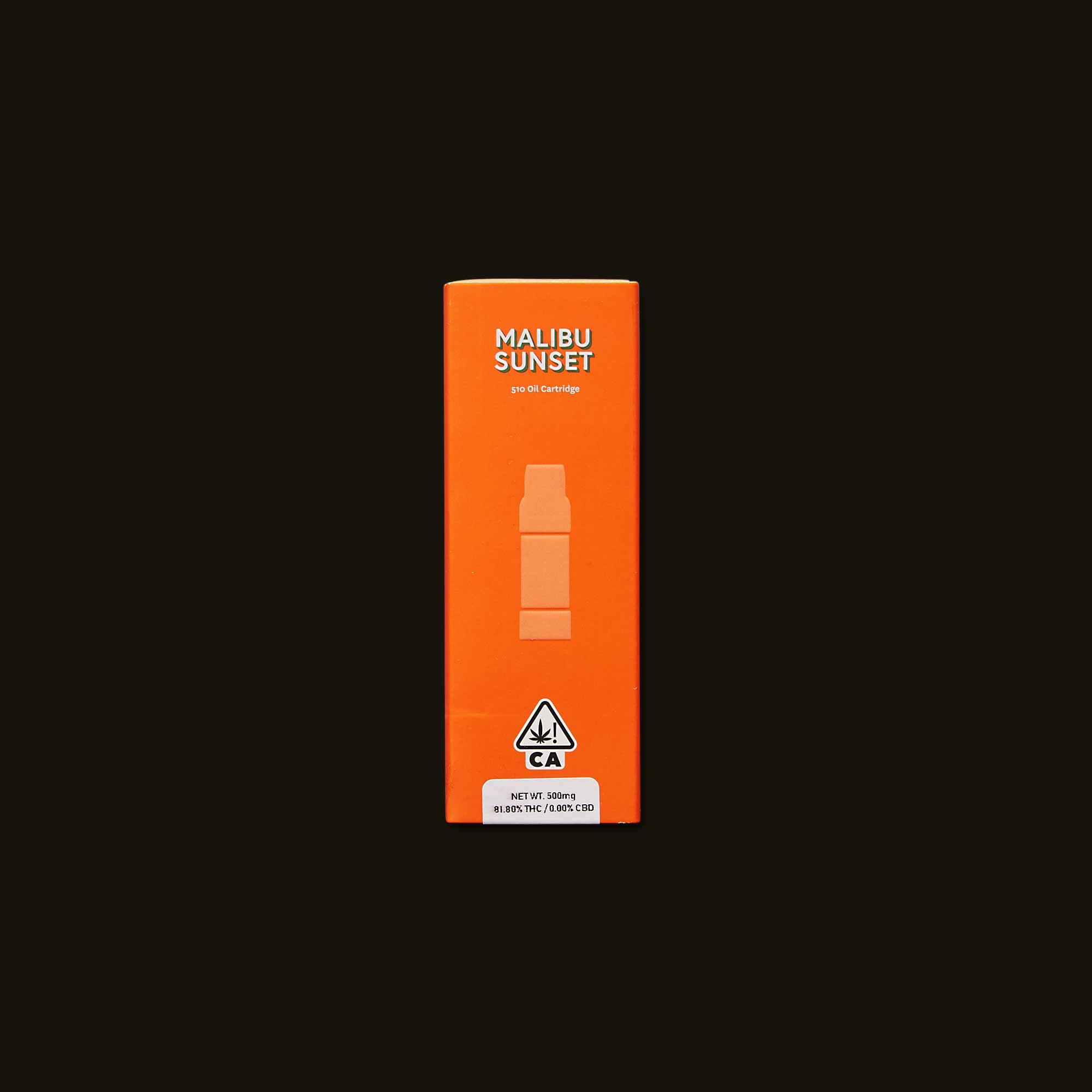 Malibu Sunset Cartridge - 500mg cartridge, 1g cartridge