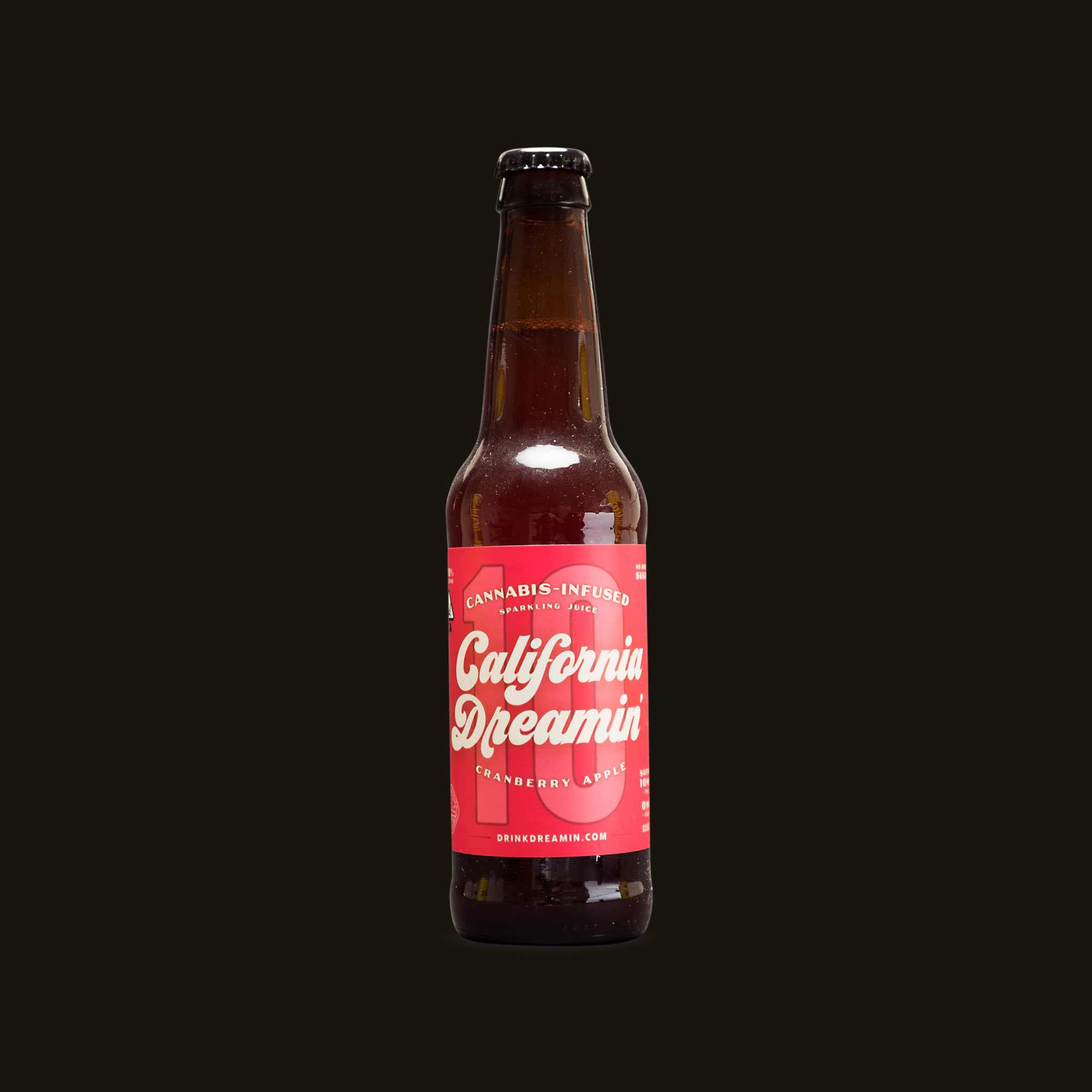 California Dreamin' Cranberry Apple Sparkling Juice