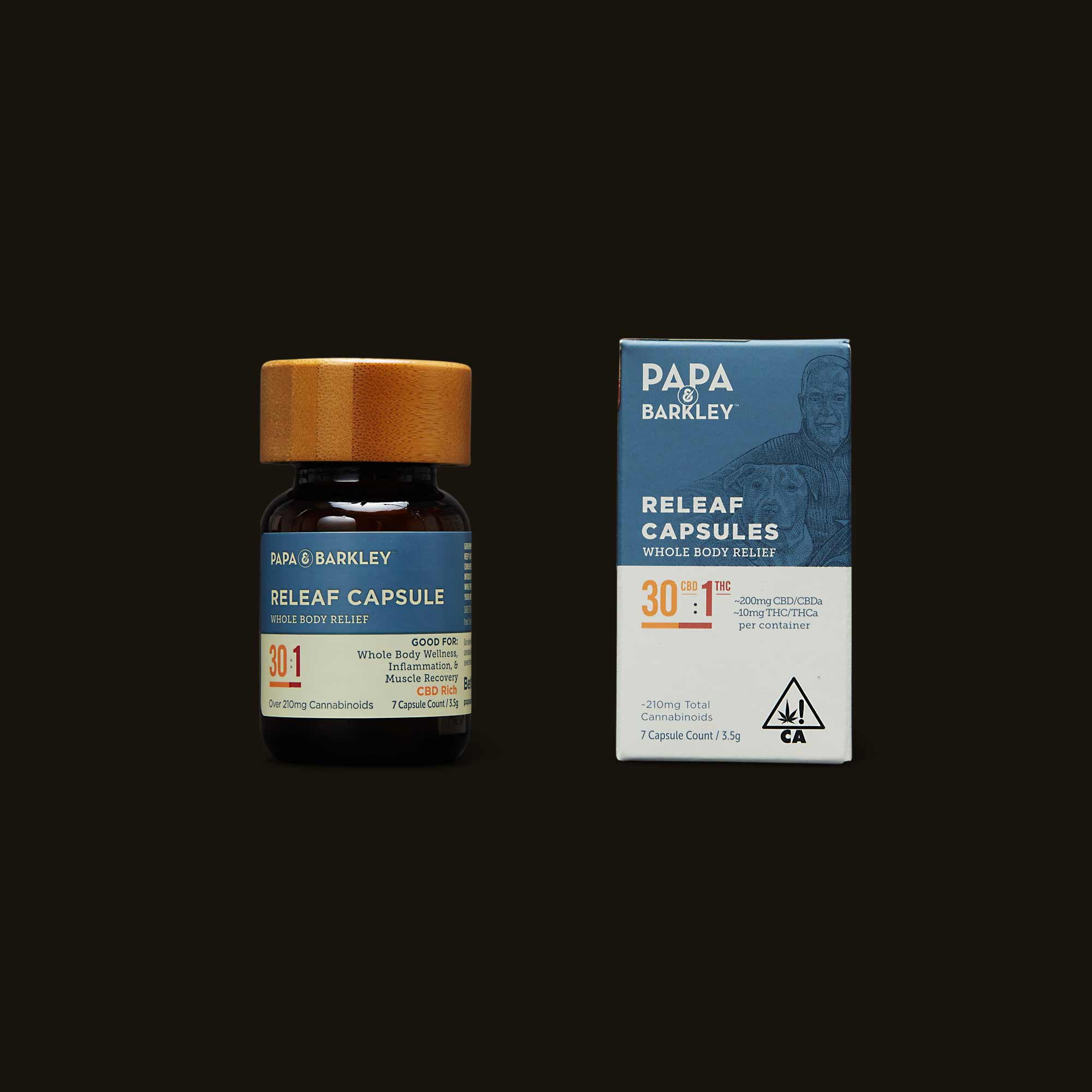 Papa & Barkley 30:1 CBD:THC Releaf Capsule