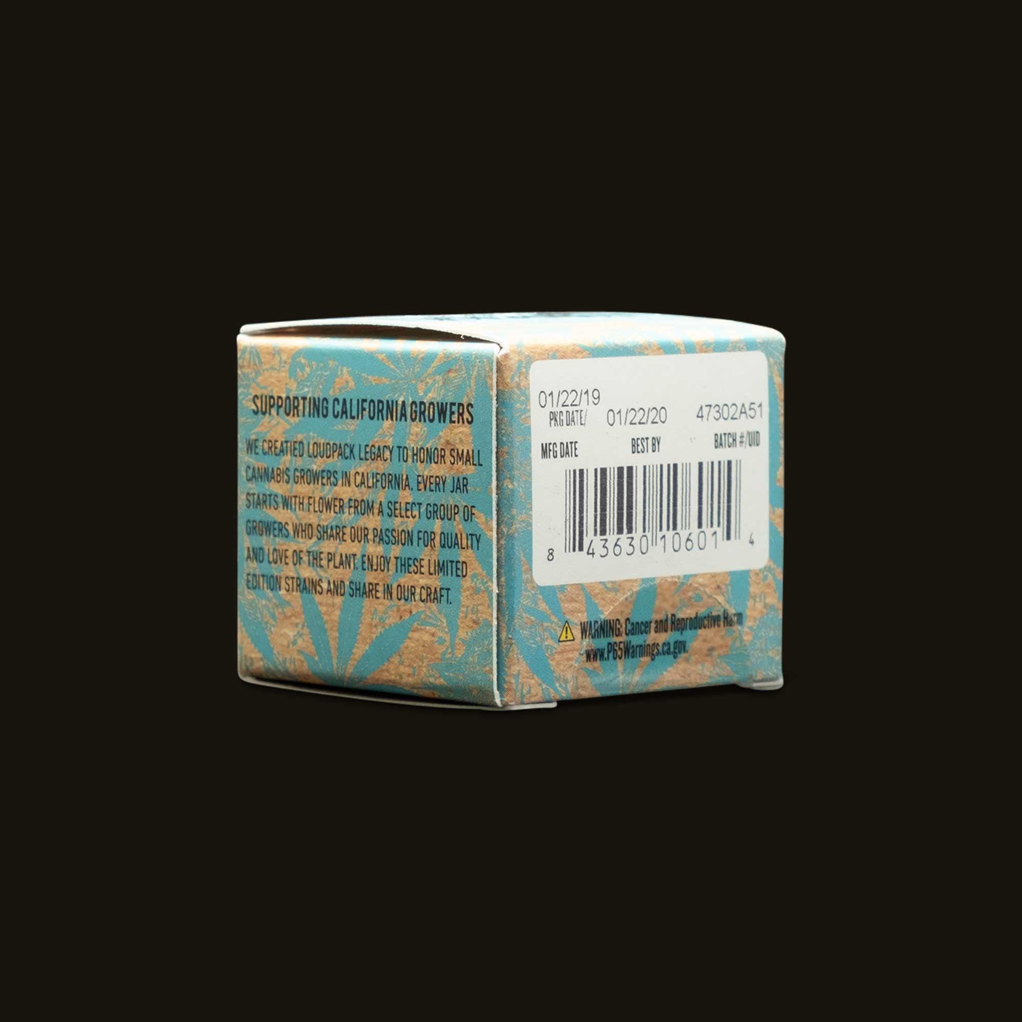 Loudpack Lemon OG Live Resin Sugar