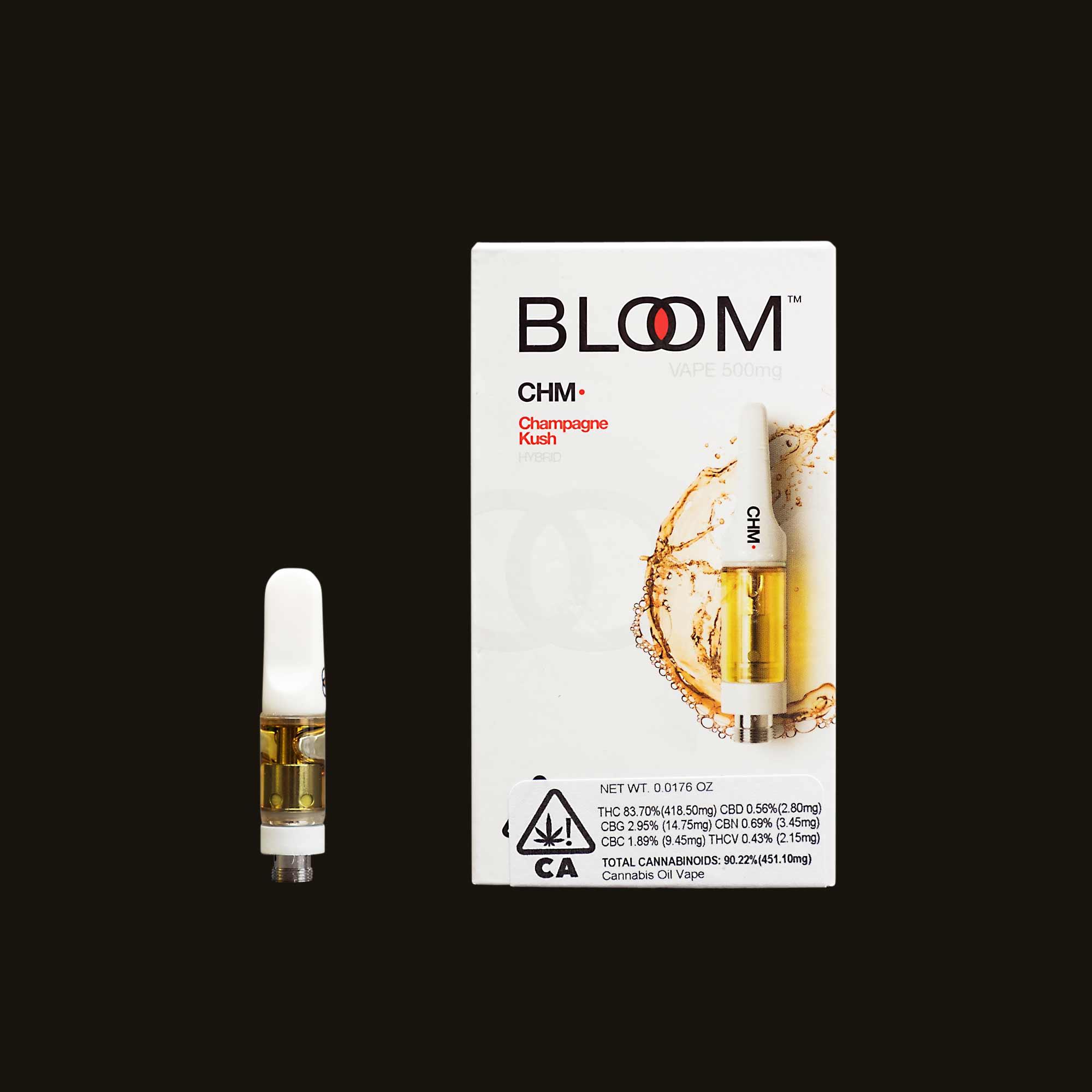 Bloom Brands Champagne Kush Cartridge - .5g