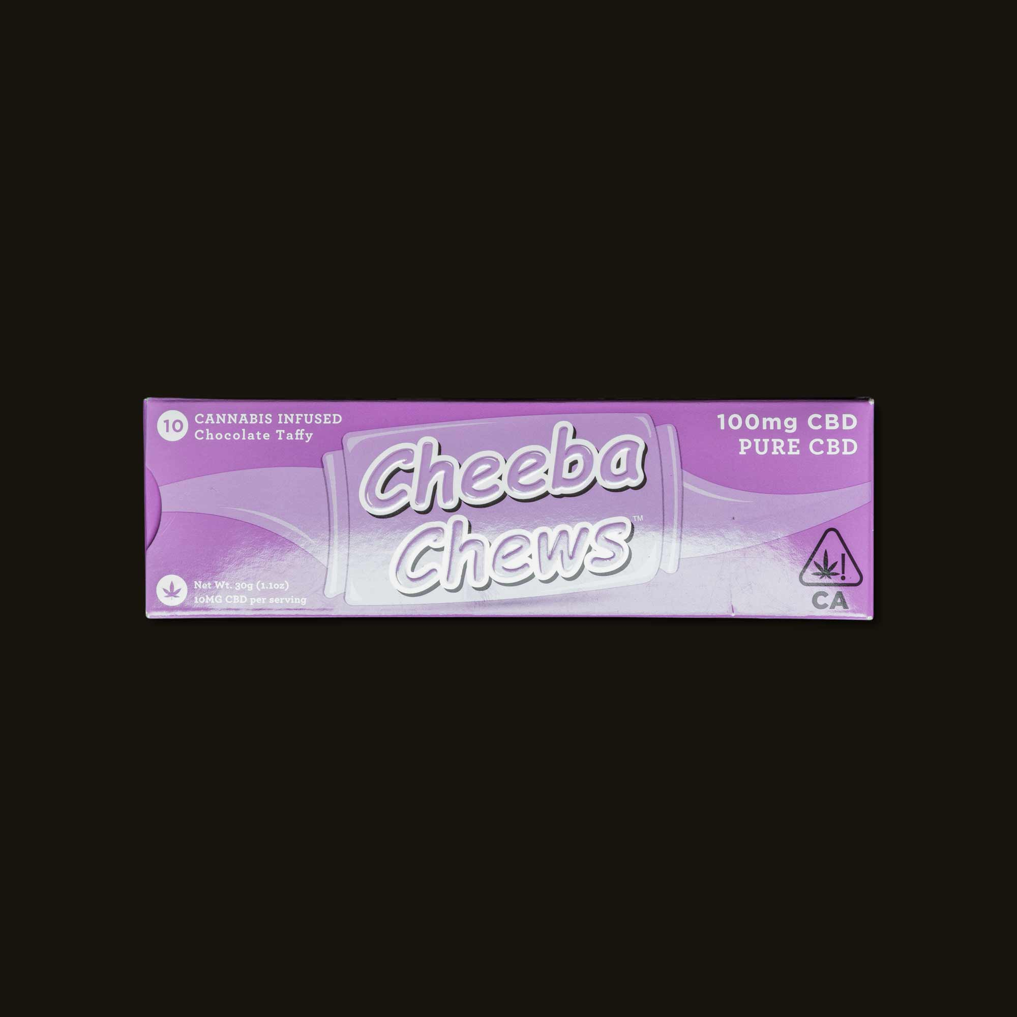 Cheeba Chews Pure CBD Chocolate Taffy