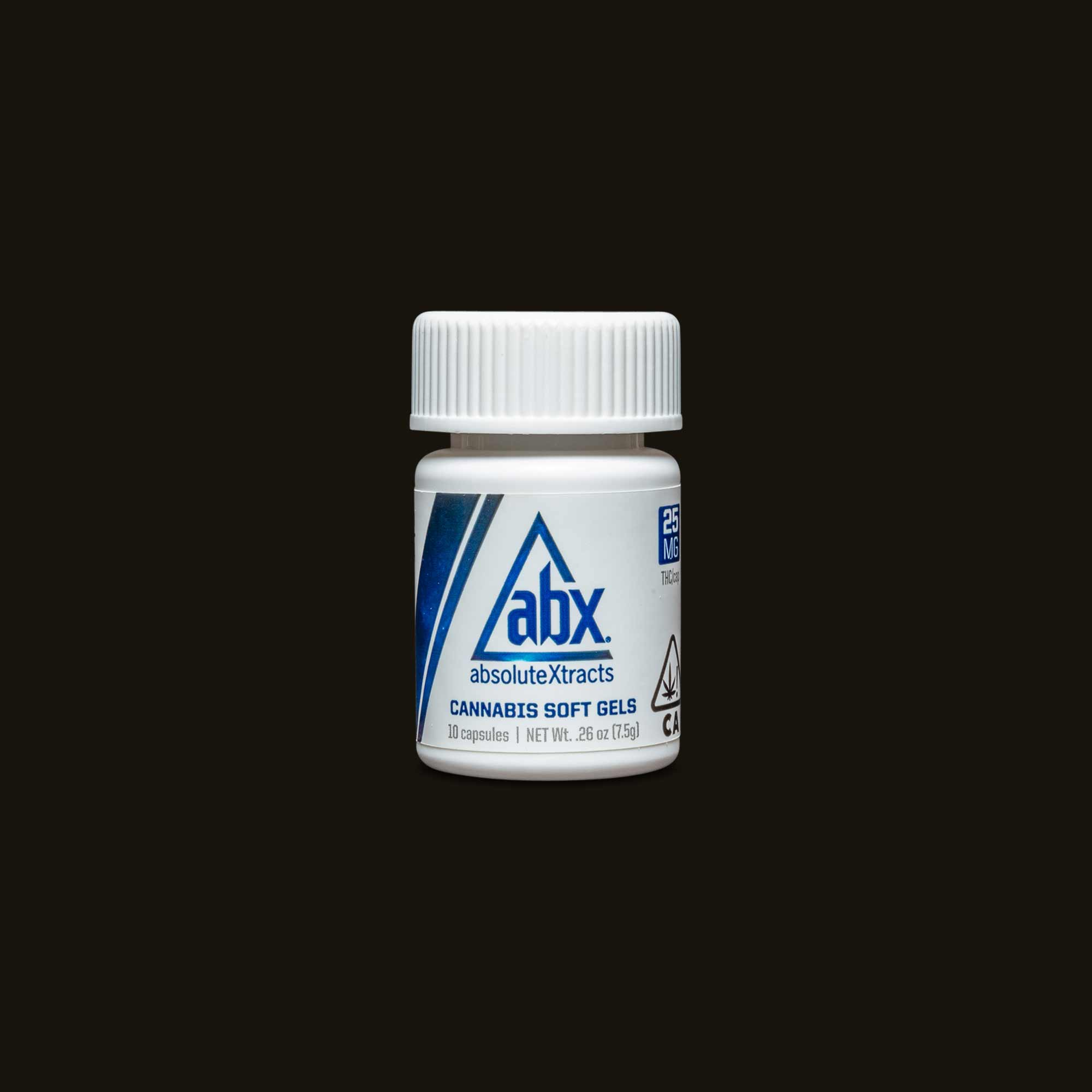 AbsoluteXtracts 25mg Soft Gels