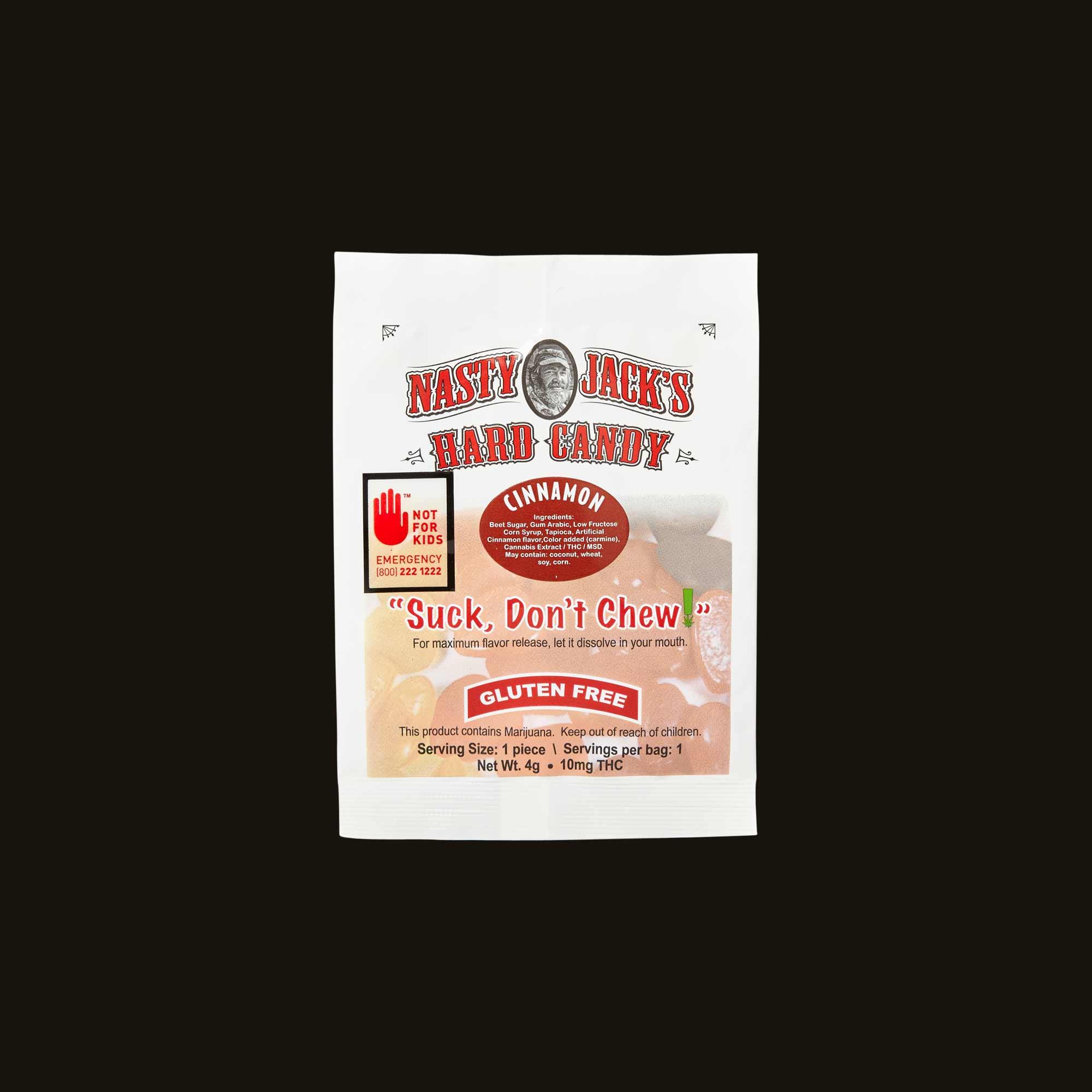 Nasty Jack's Cinnamon Hard Candy