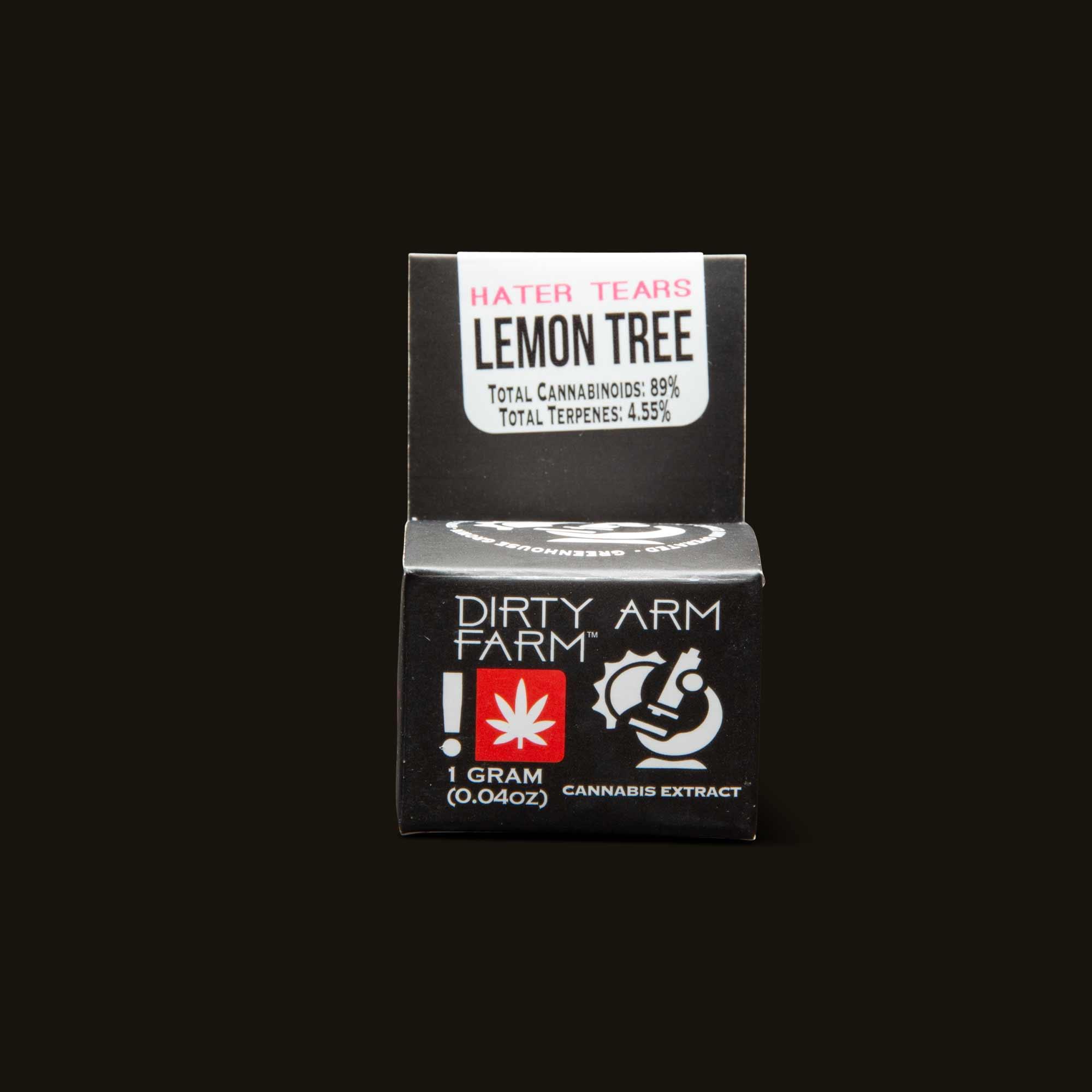 Dirty Arm Farm Lemon Tree Live Resin