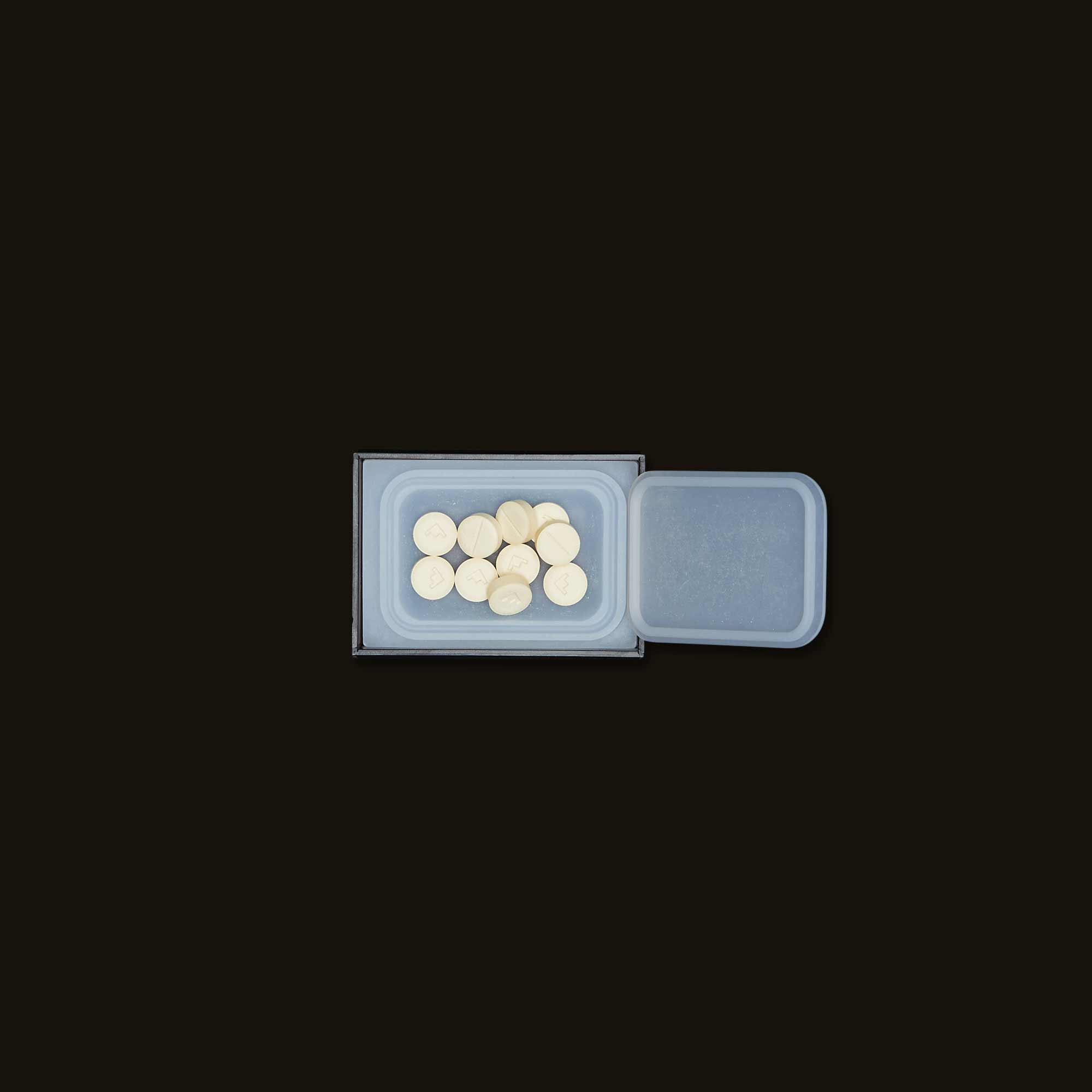 Container of pills