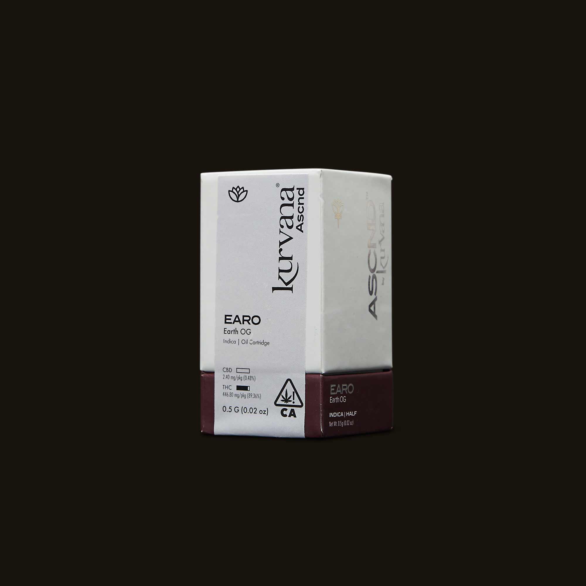 Kurvana ASCND Earth OG Packaging