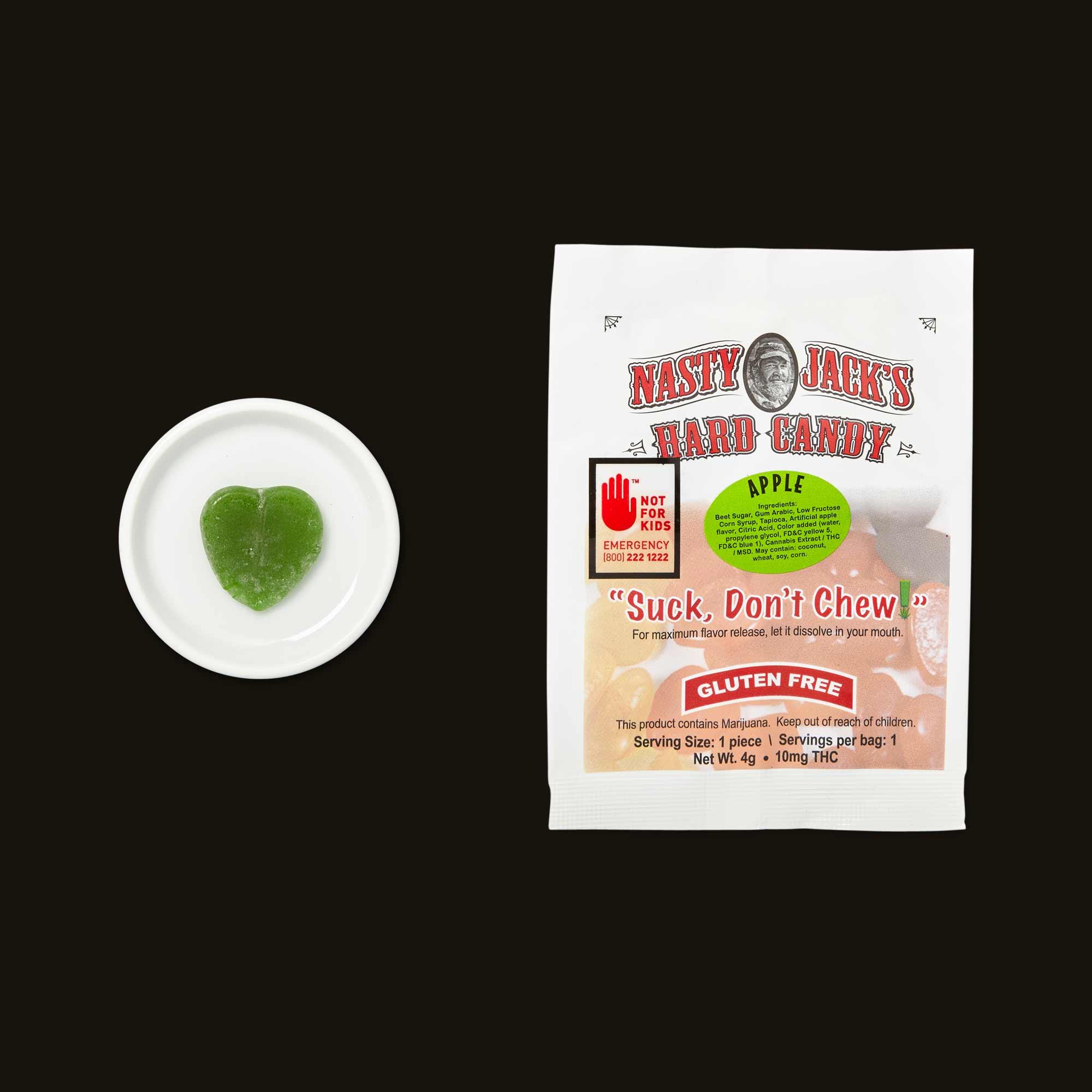 Nasty Jack's Apple Hard Candy
