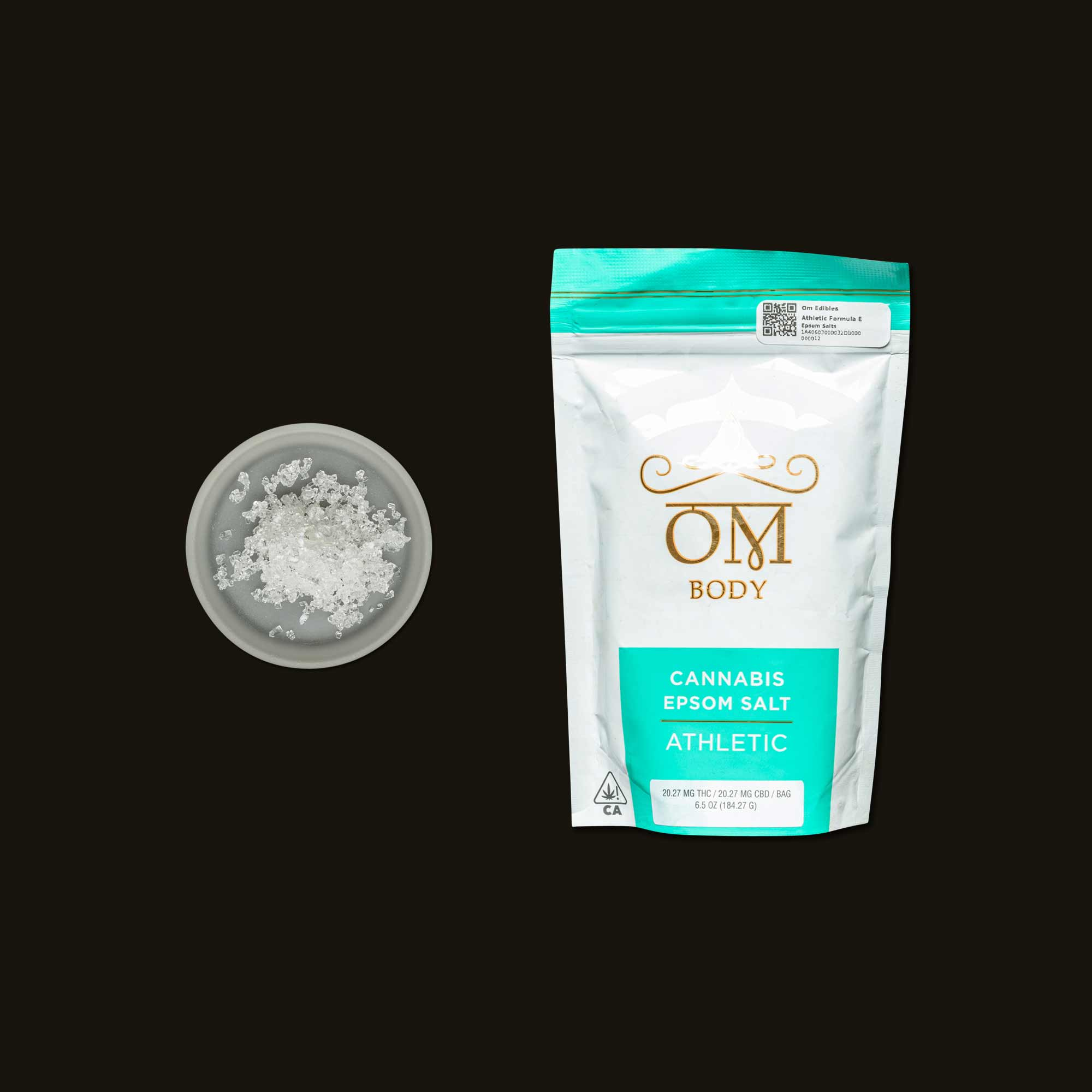 Om Edibles Athletic Formula Epsom Salt