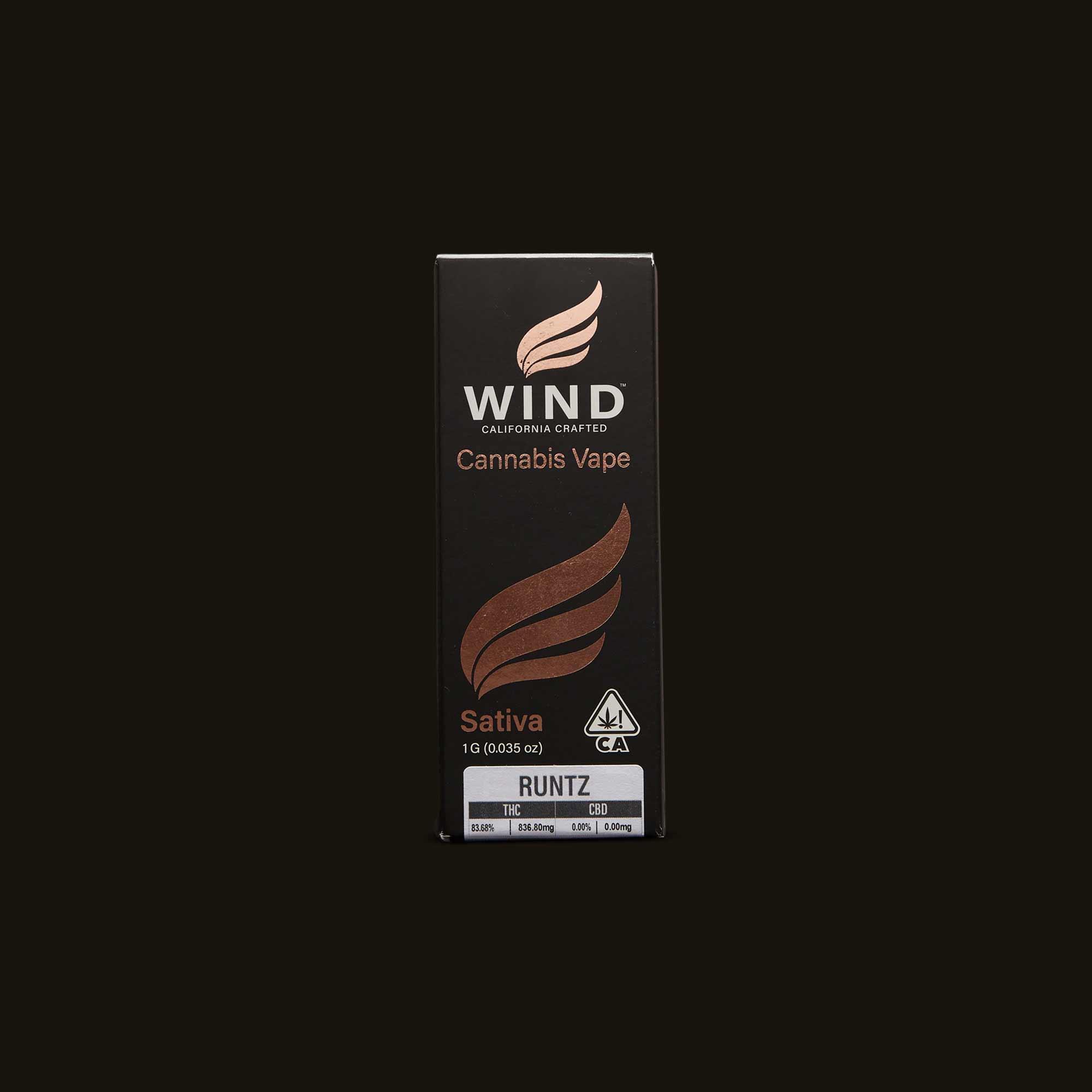 Wind Runtz Sativa Cartridge