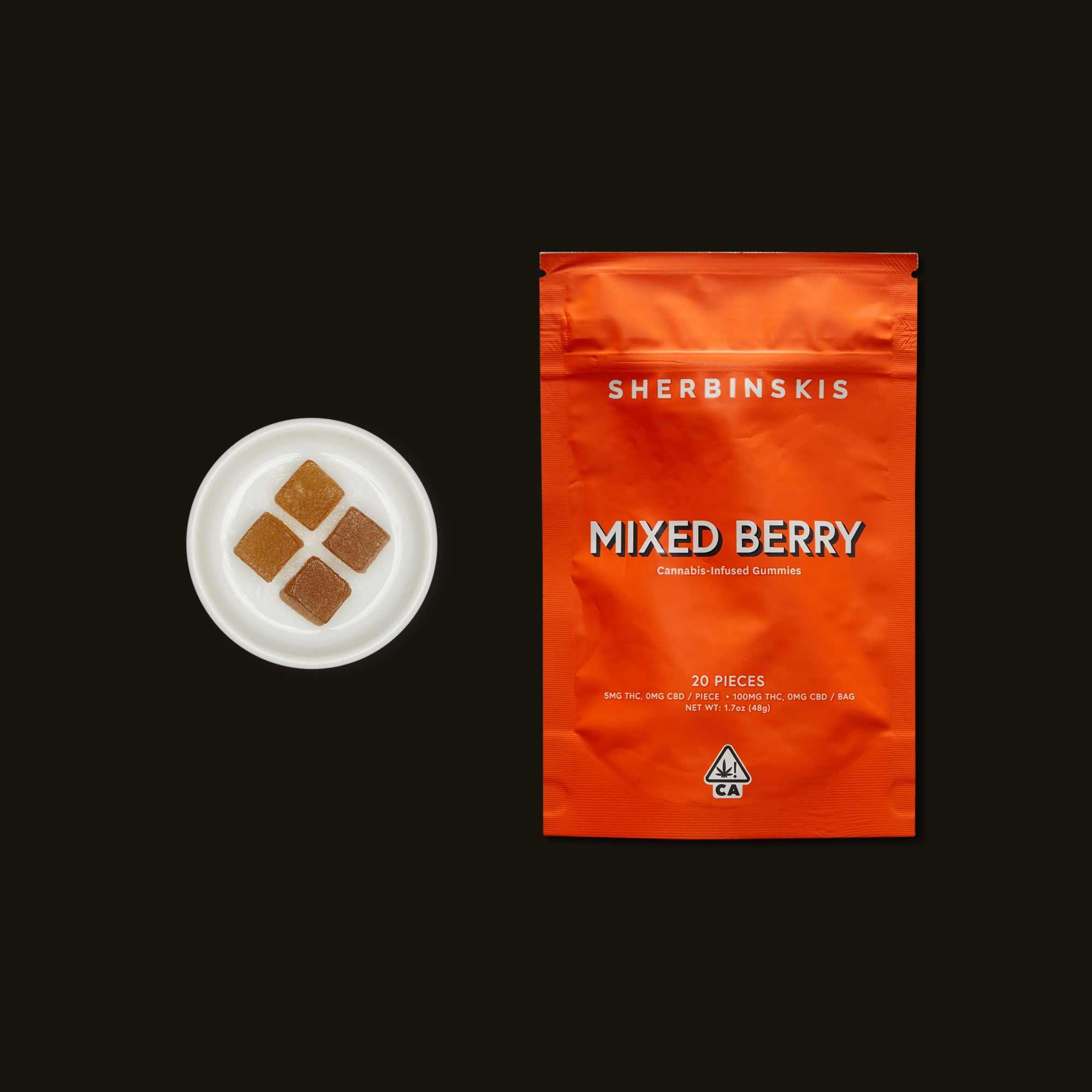 Sherbinskis Mixed Berry Gummies