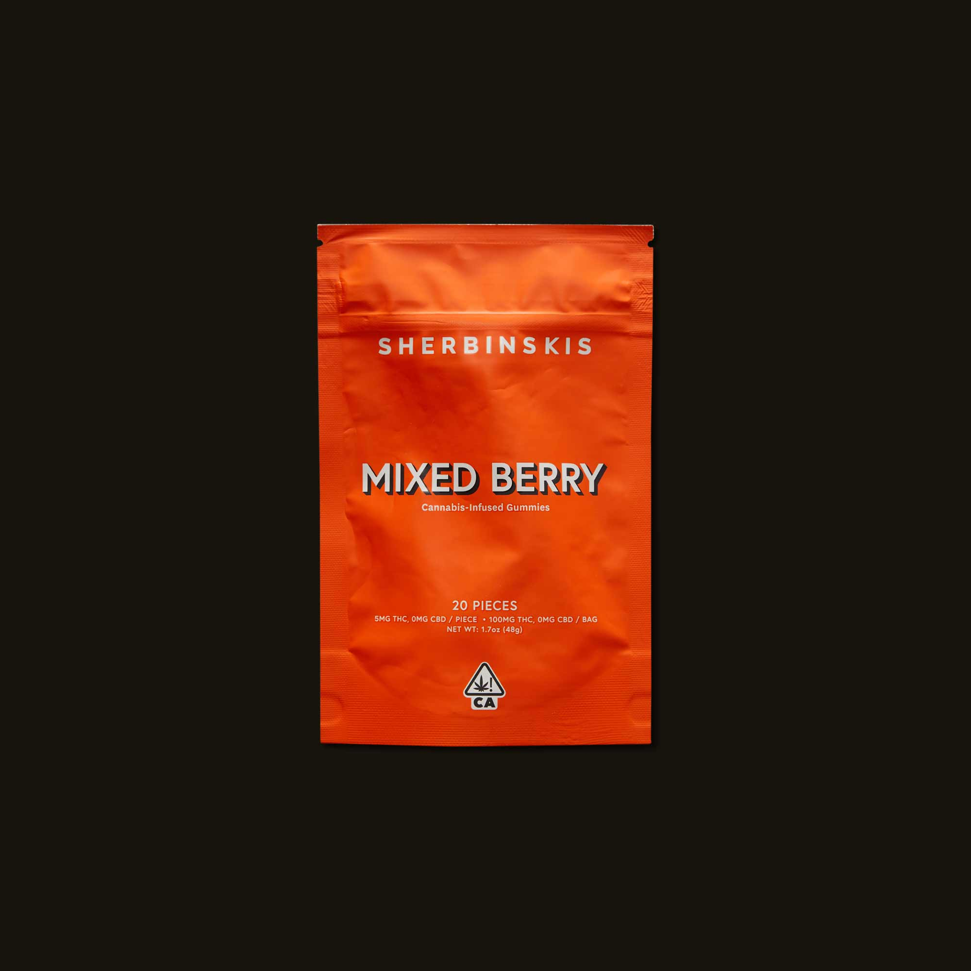 Sherbinskis Mixed Berry Gummies