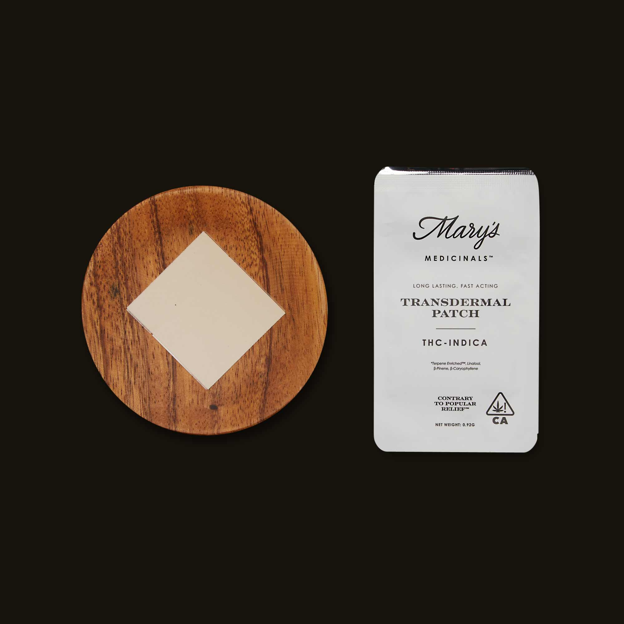 Mary's Medicinals THC Transdermal Patch