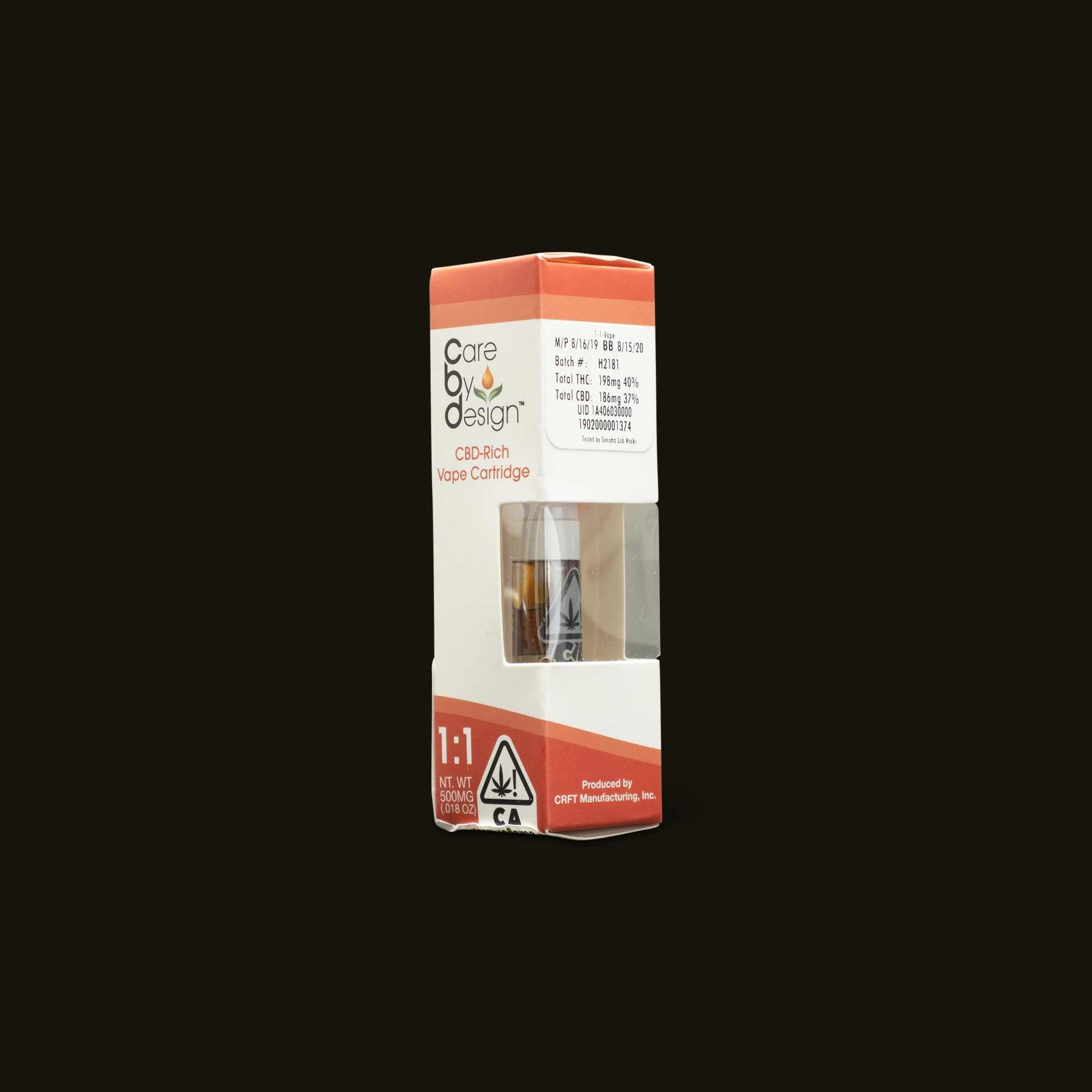 Care By Design 1:1 Vape Cartridge