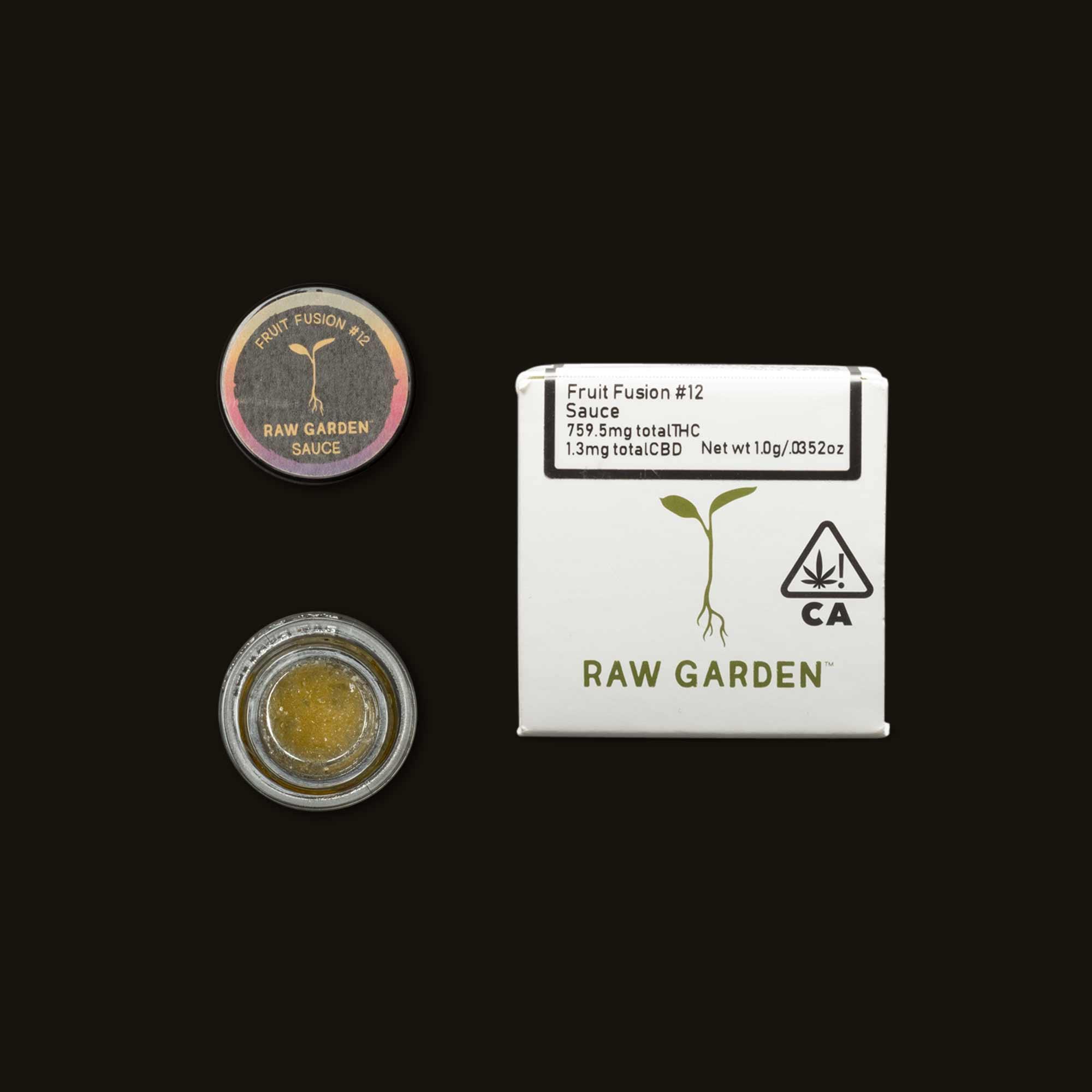 Raw Garden Fruit Fusion Sauce