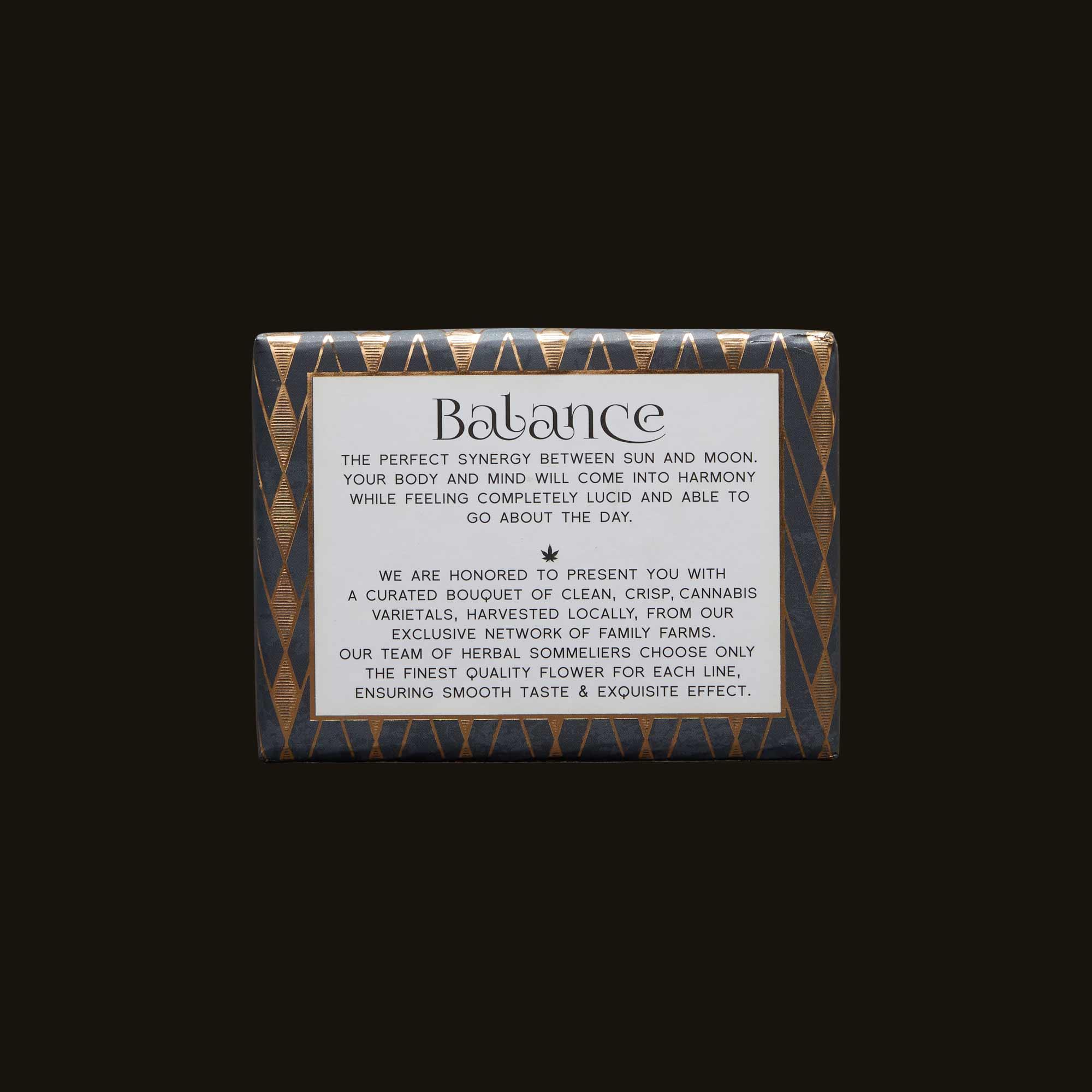 flwr Balance CBD Pre-Rolls