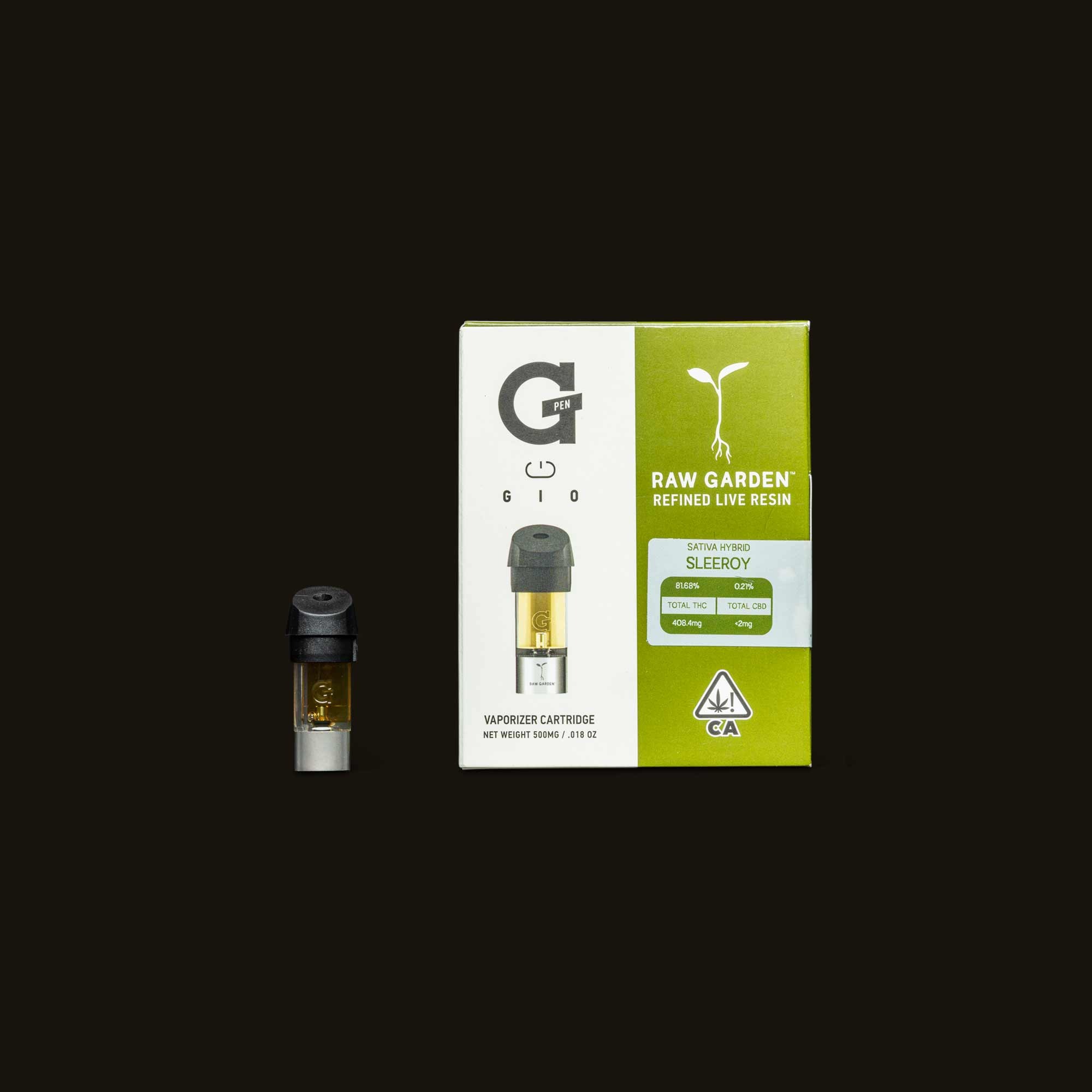 Sleeroy GIO Pod from Raw Garden