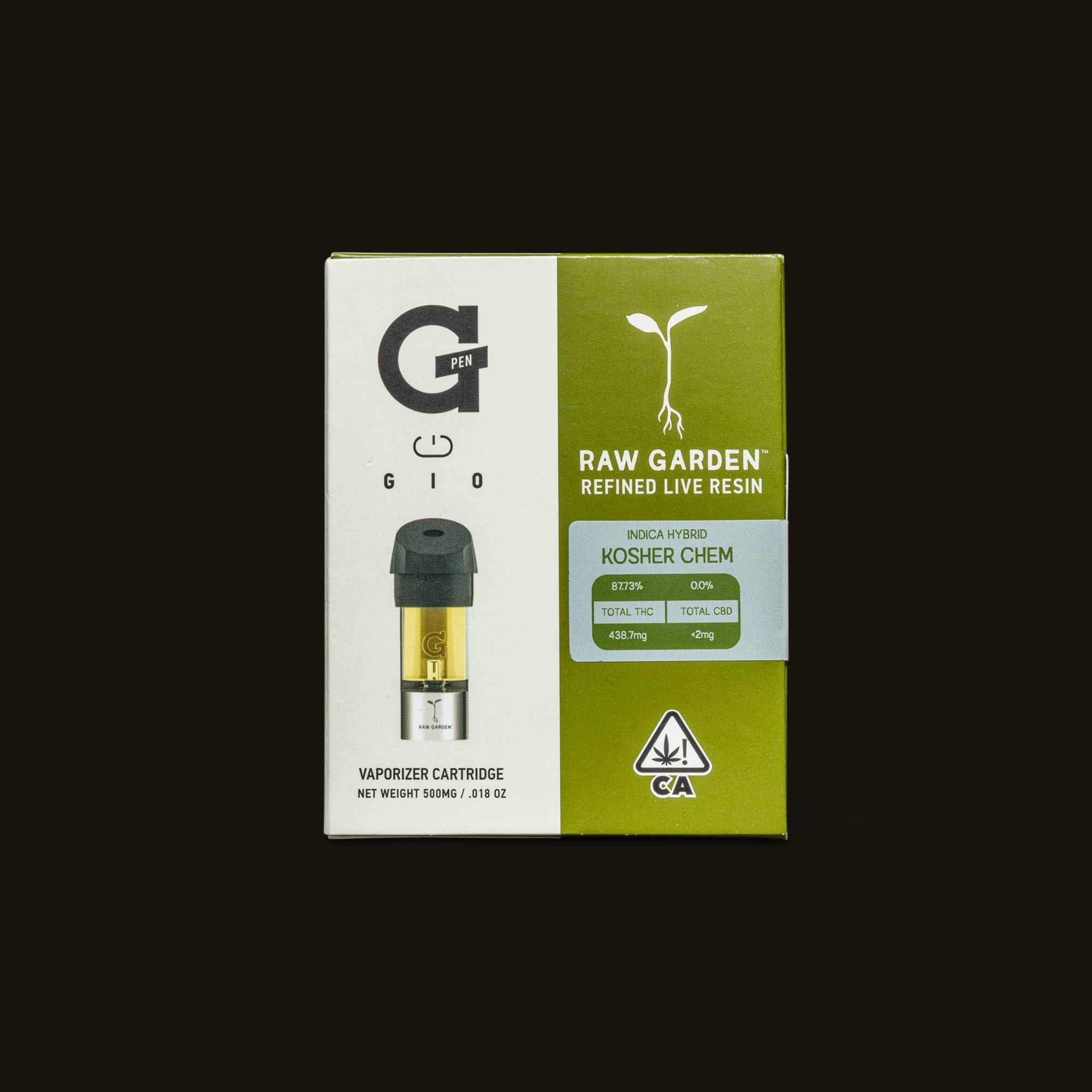 Ksher Chem GIO Pod packaging
