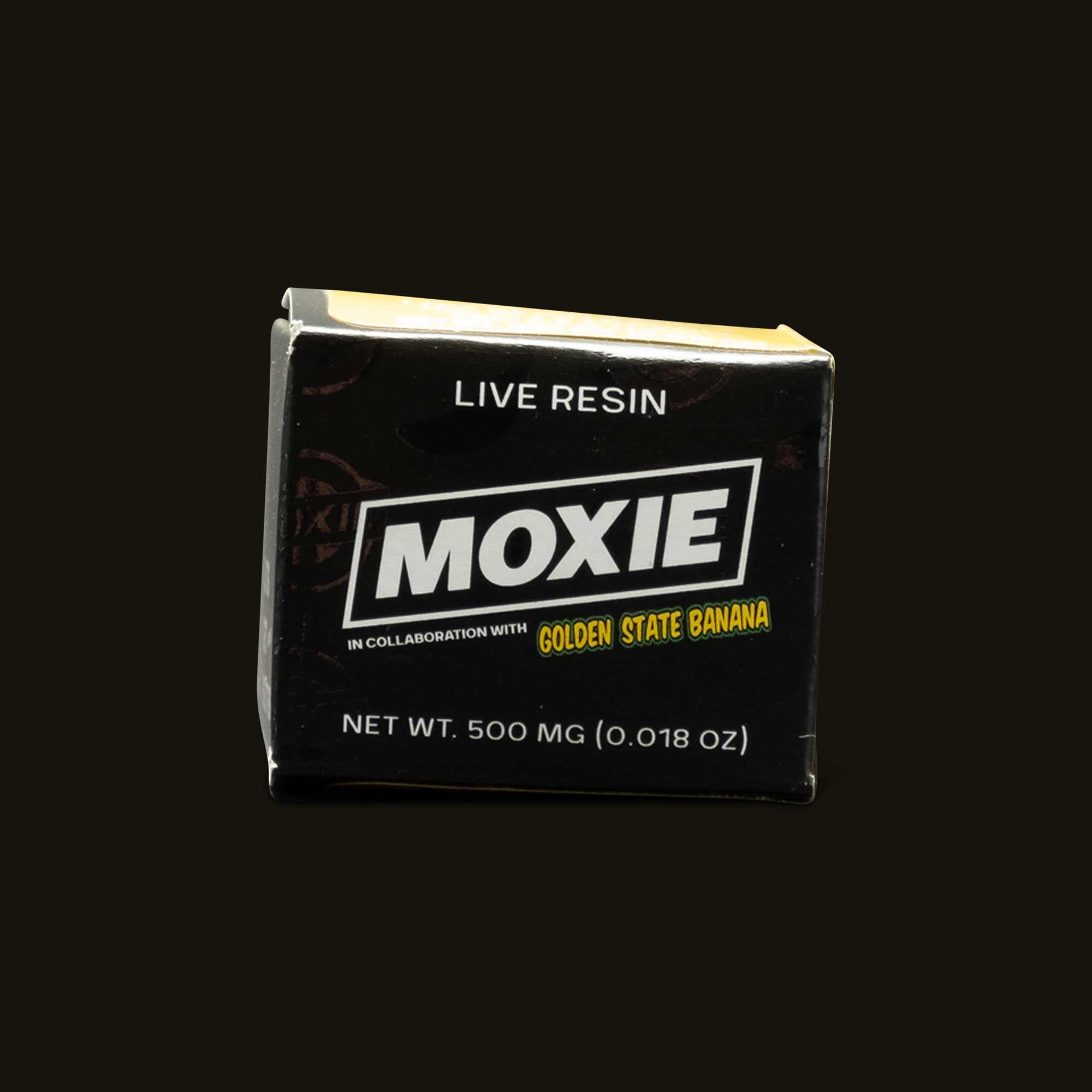 Moxie Golden State Bananas Live Resin Cake Batter