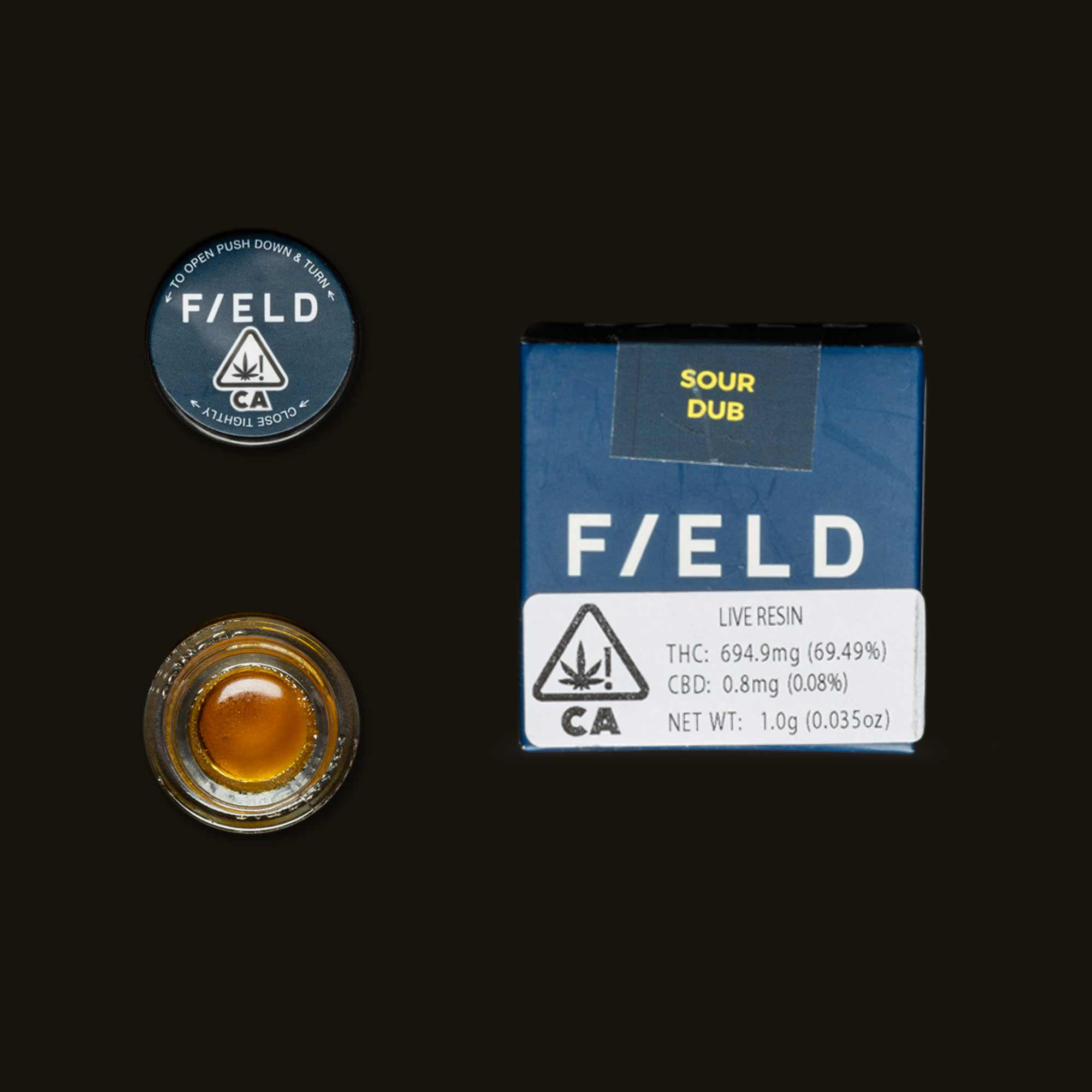 Field Extracts Sour Dub Live Resin
