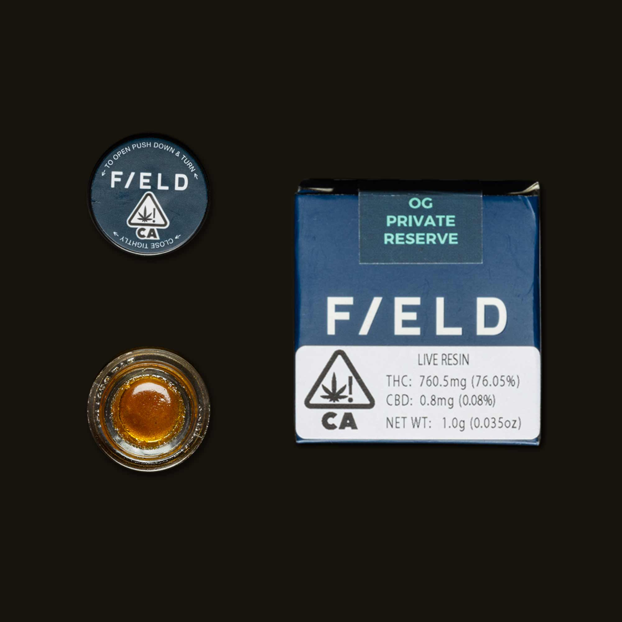Field Extracts OG Private Reserve Live Resin