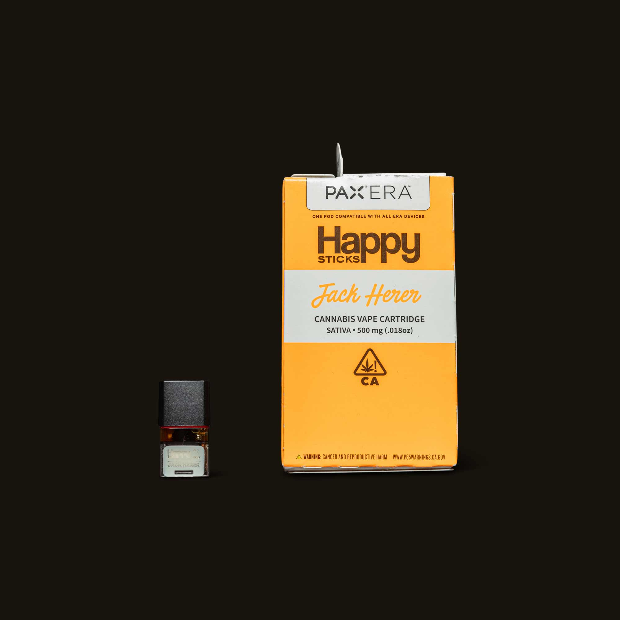 Happy Sticks Jack Herer PAX Era Pod