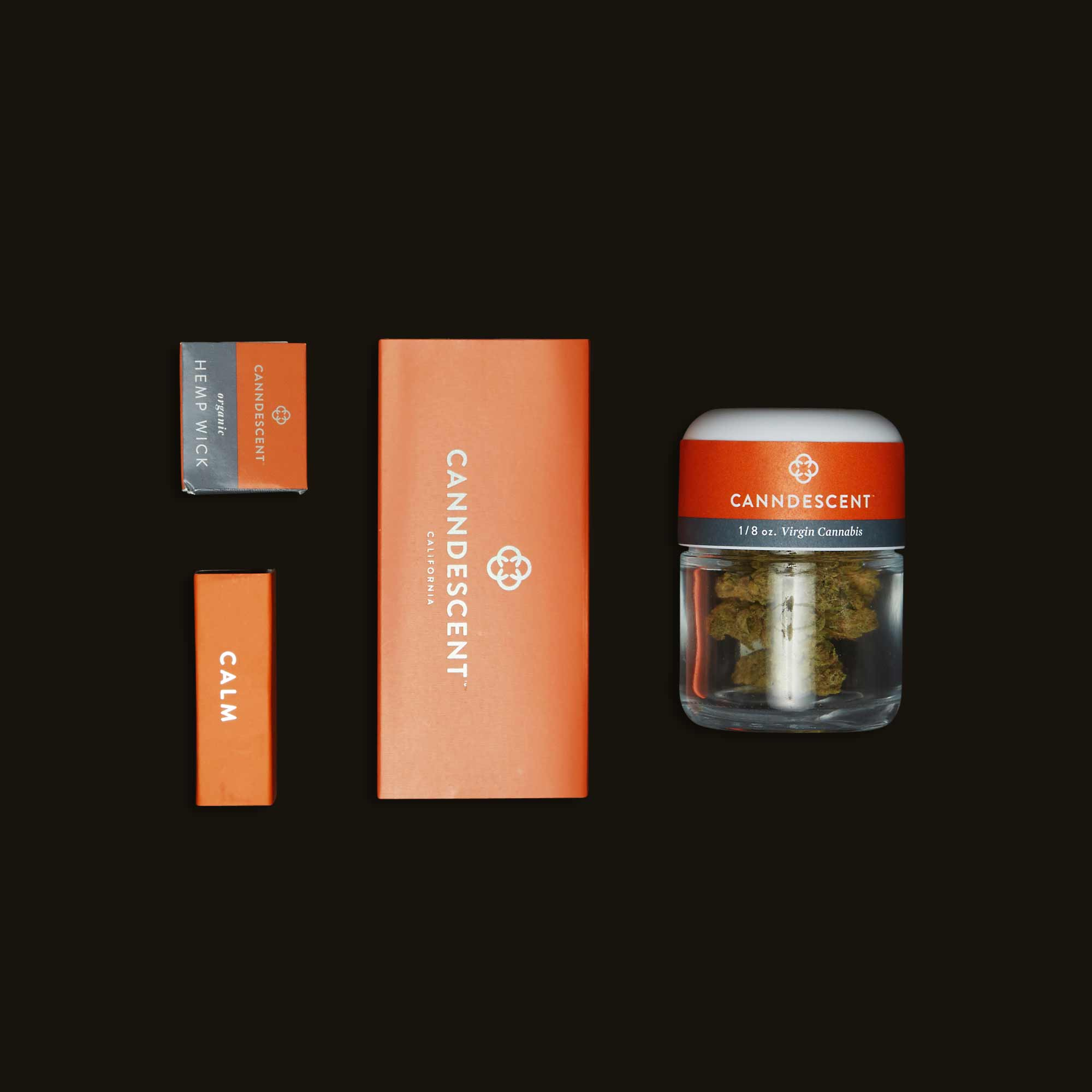 Candescent Calm weed packaging