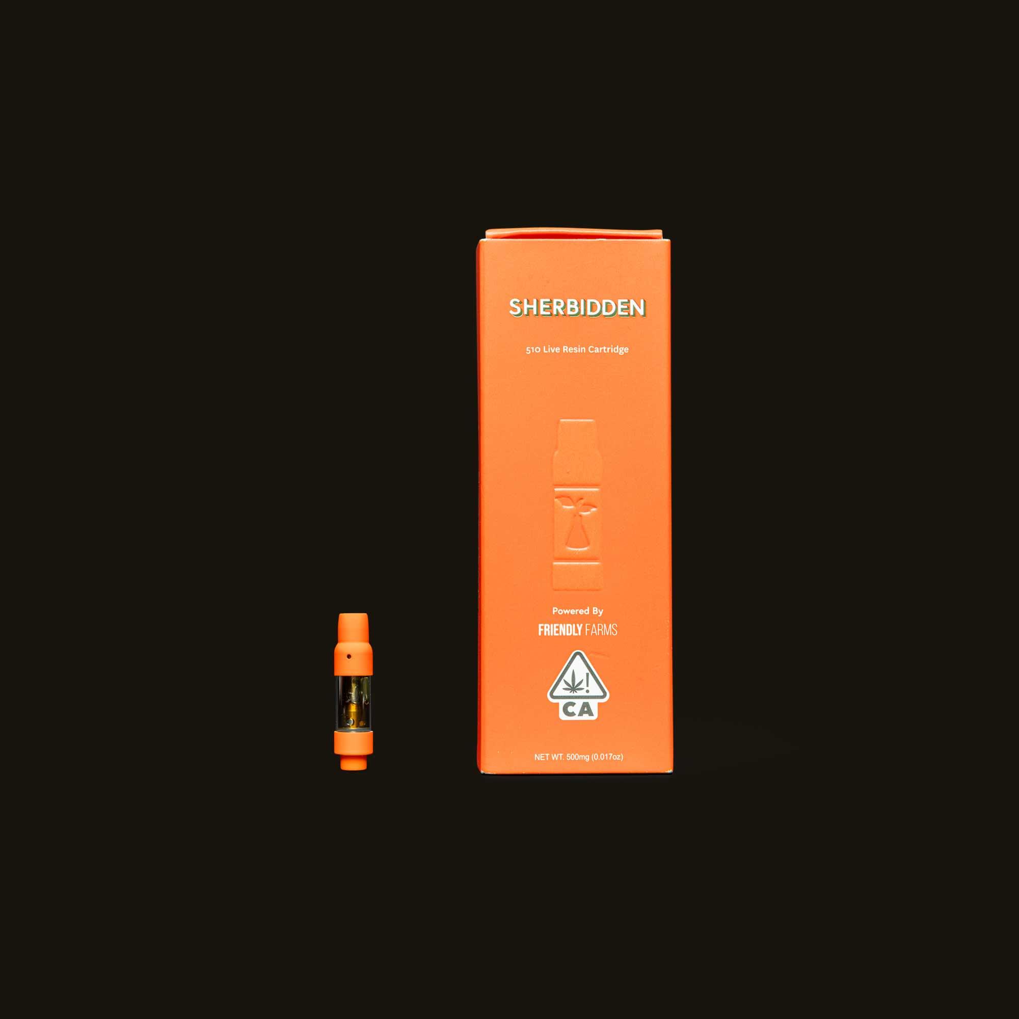 Sherbinskis Sherbidden Live Resin Cartridge
