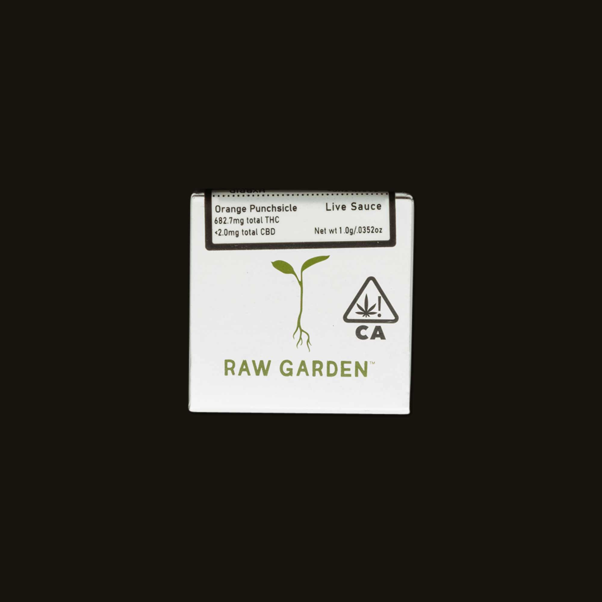 Raw Gardens Orange Punchsicle Sauce