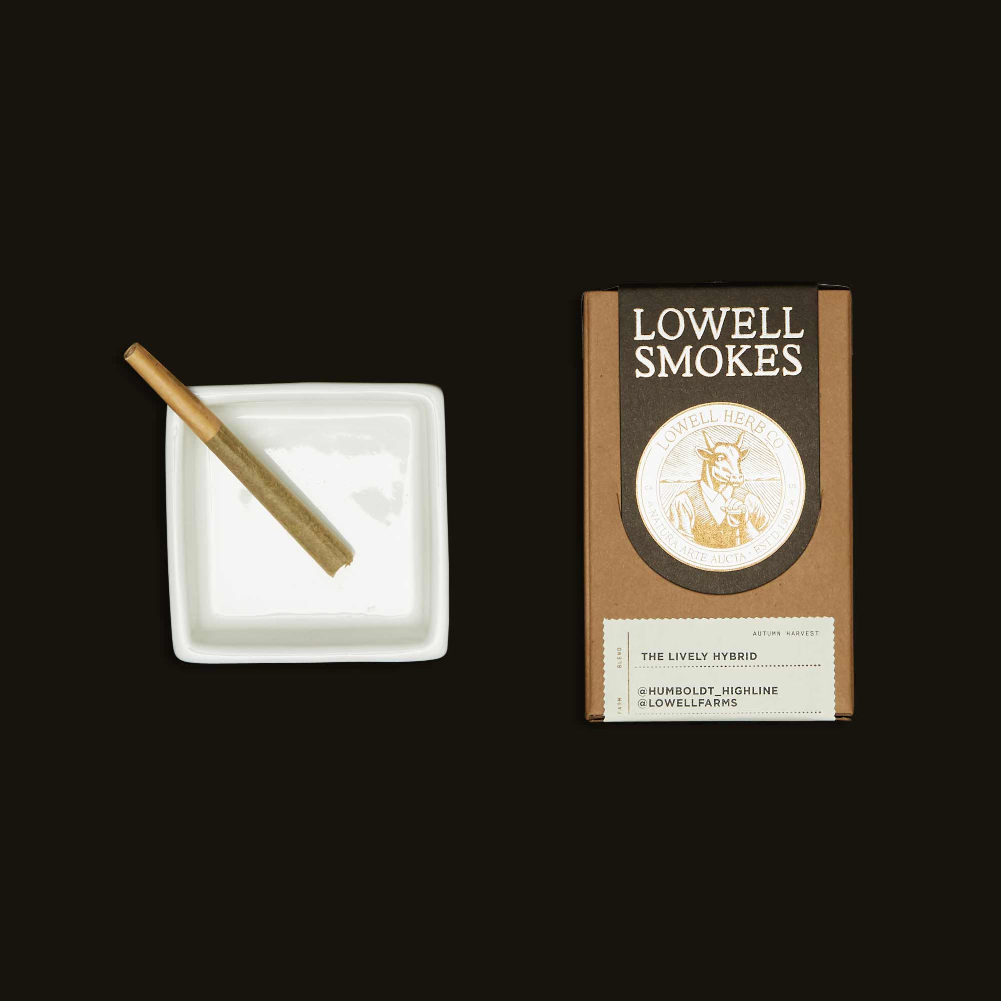 Lowell pre-roll smokes - the Lively Hybrid