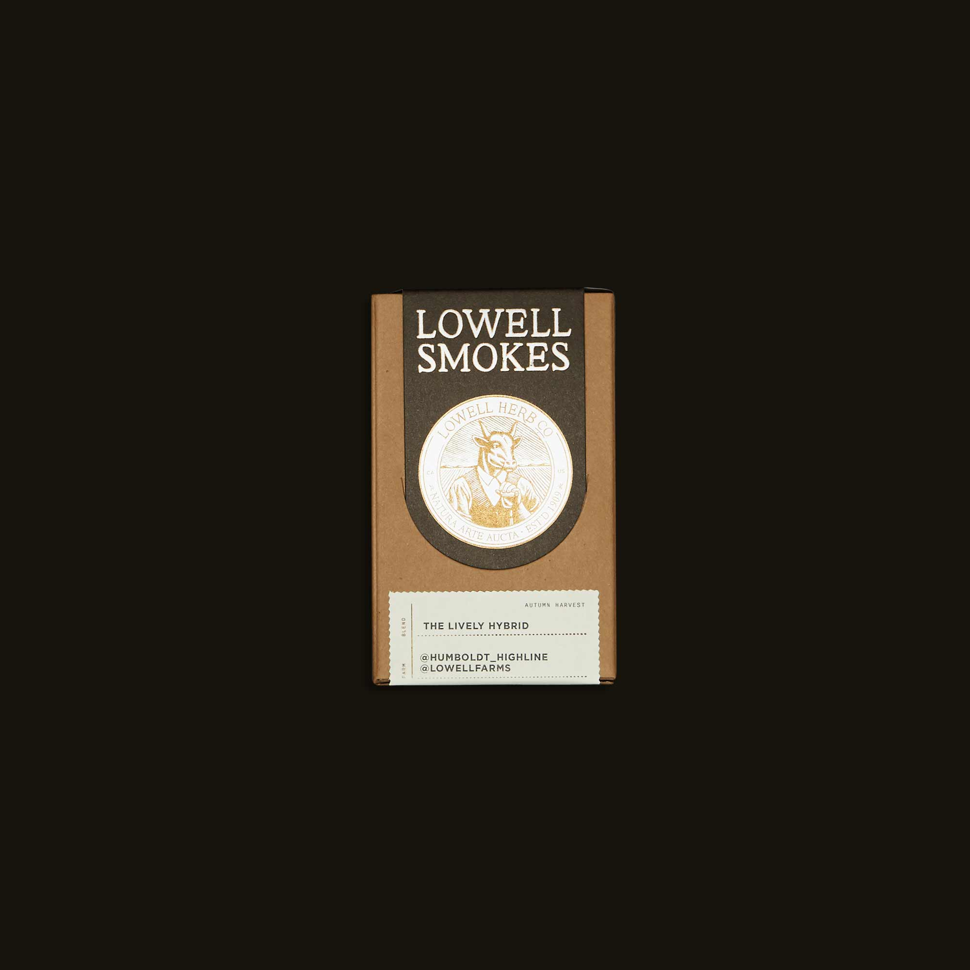the Lively Hybrid pre-rolls from Lowell Smokes