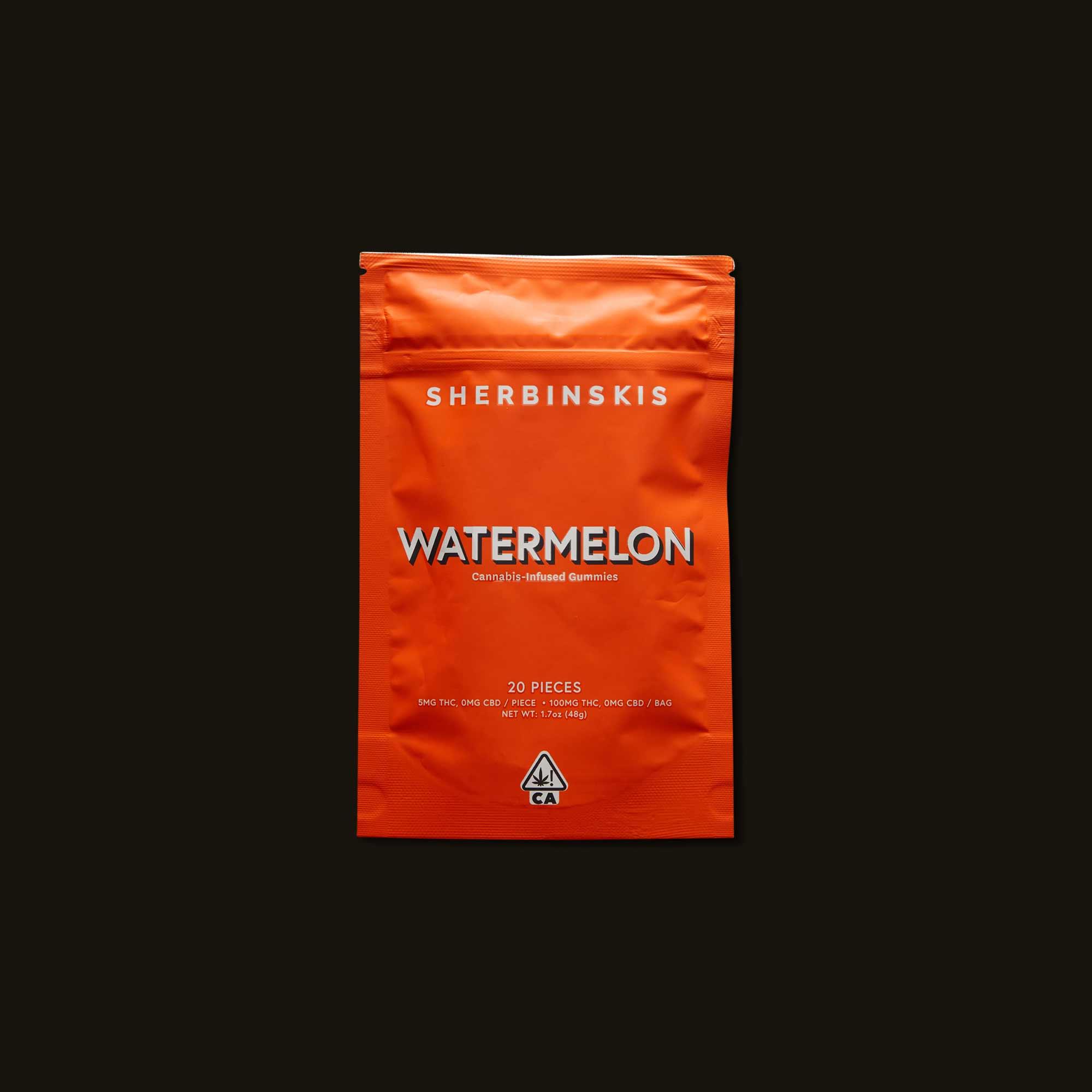 Sherbinskis Watermelon Gummies