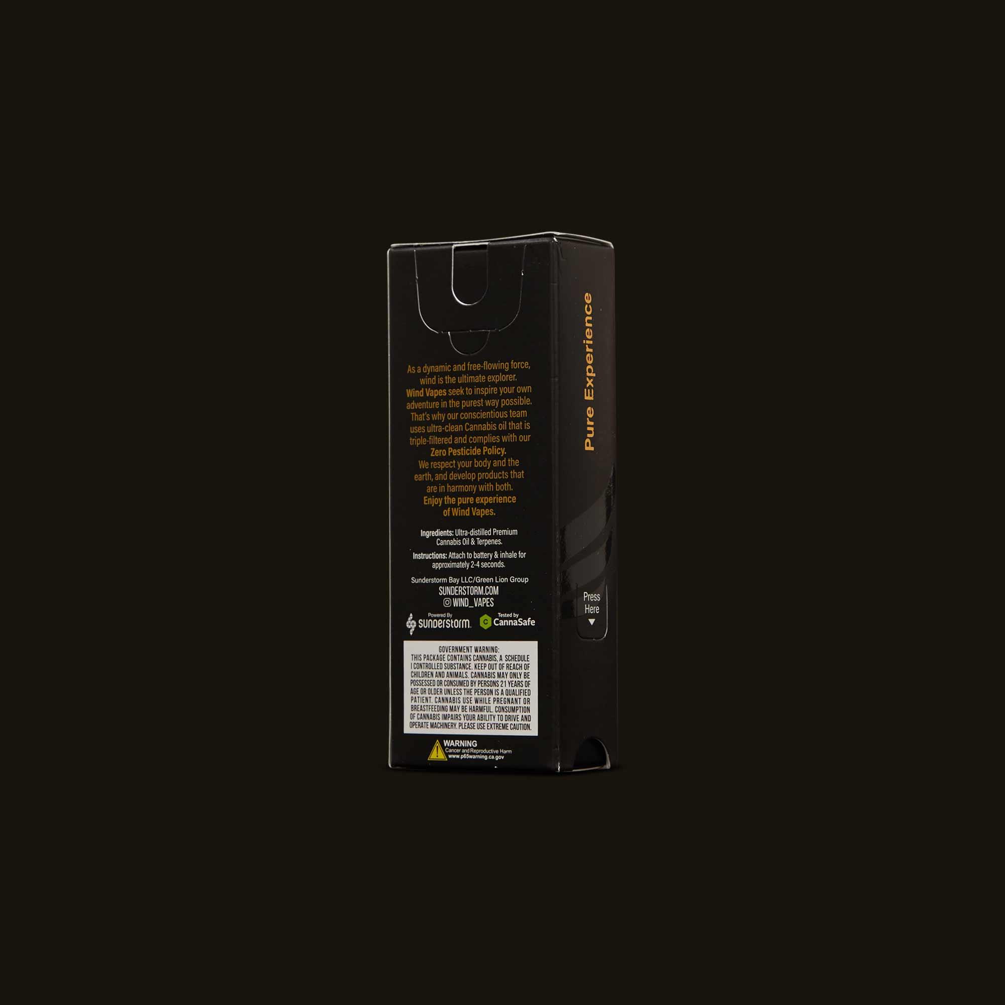 Wind Limoncello Hybrid Cartridge