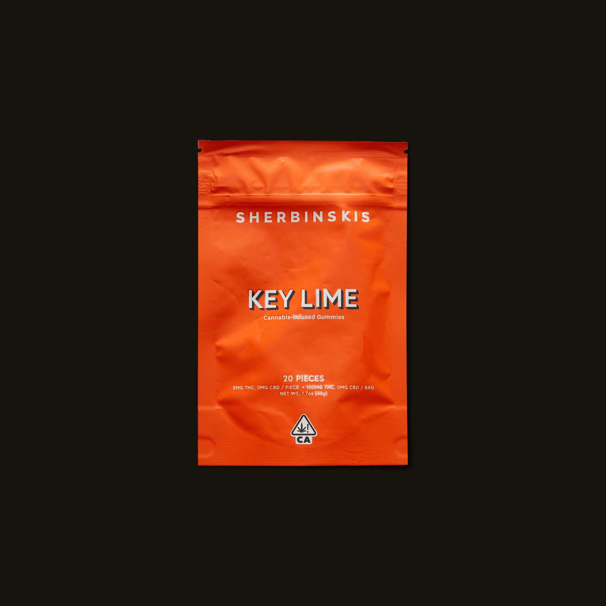 Sherbinskis Key Lime Gummies