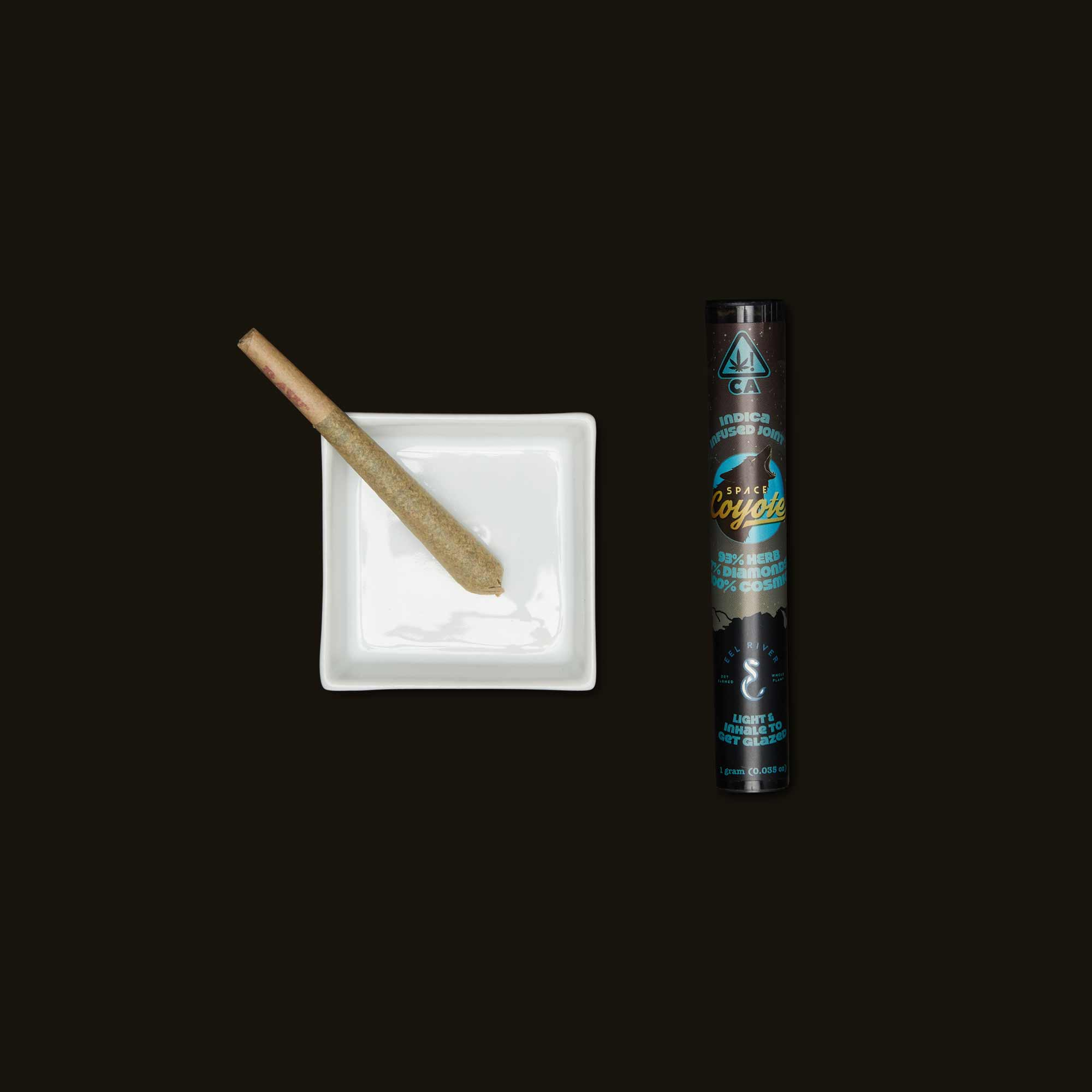Space Coyote Indica Diamonds Joint